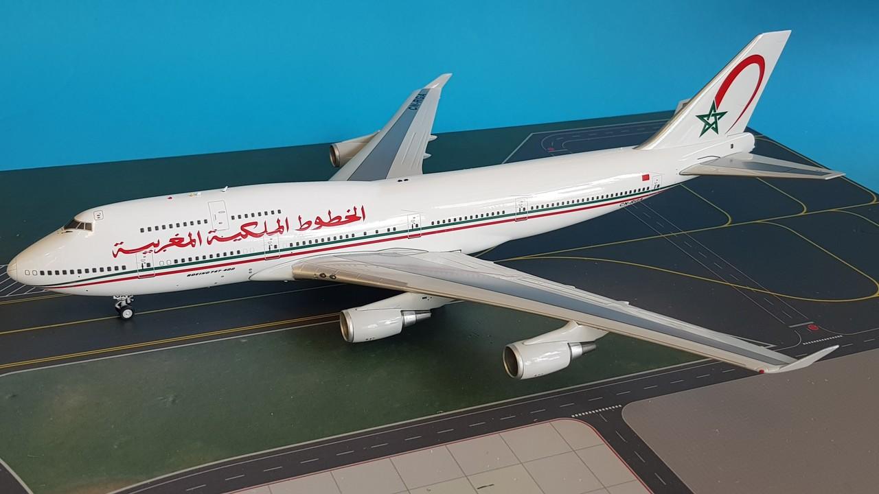 - 1/200 Royal Air Maroc 747 CN-RGA £125.00