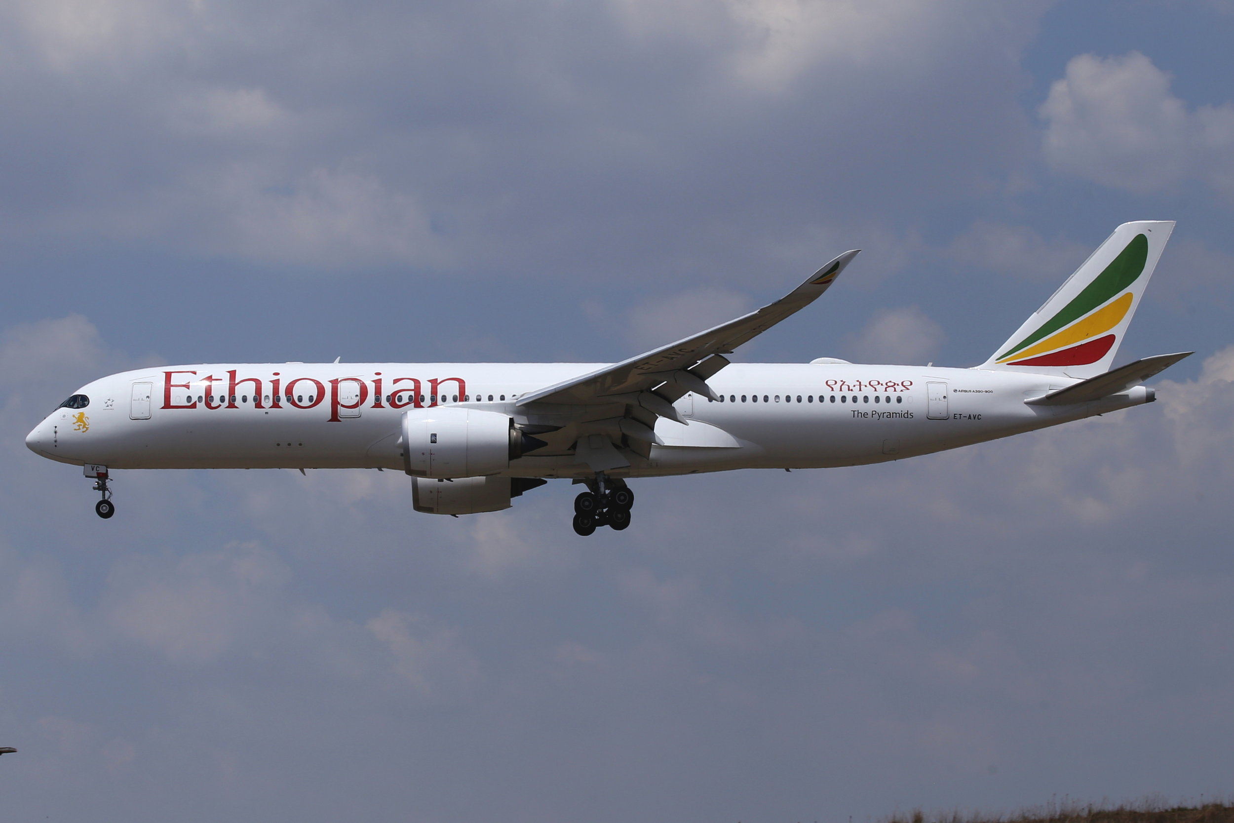 ET-AVC Ethiopian A350-9 Taken at Johannesburg 10th November 2018 by John Wood