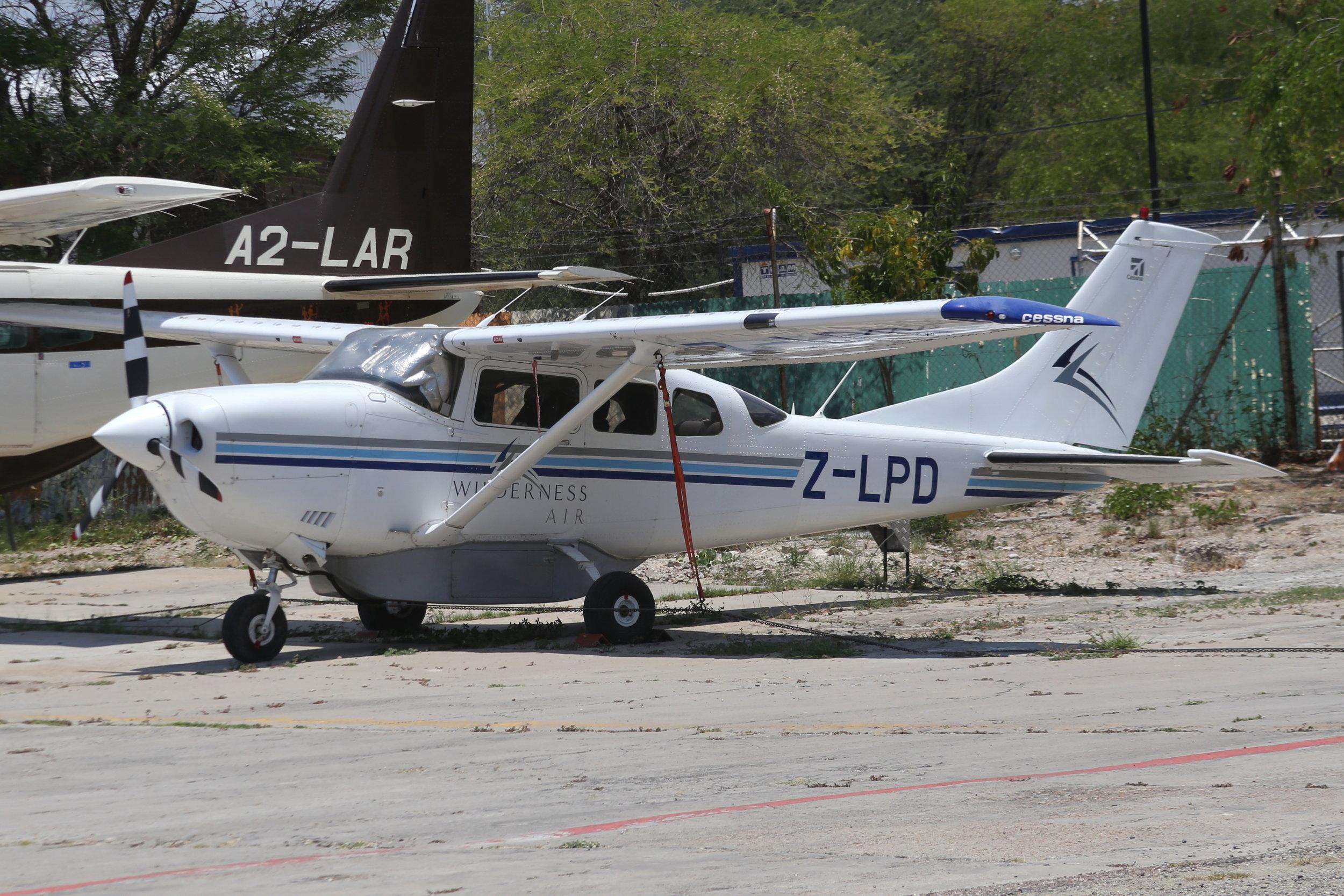 Z-LPD Wilderness Air C206 taken at Maun, Botswana 15th November 2018 by John Wood