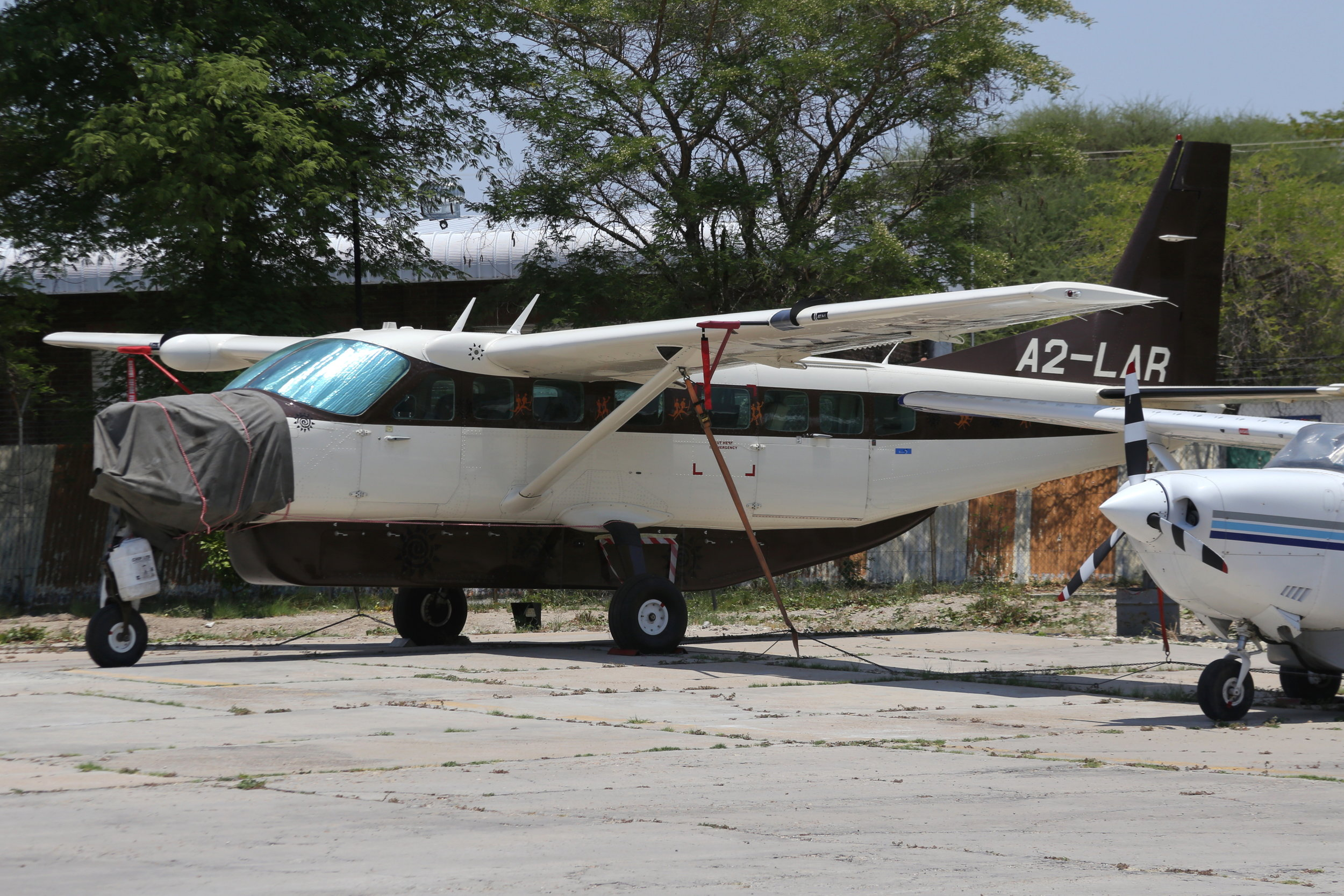 A2-LAR Prijet C208 taken at Maun, Botswana 15th November 2018 by John Wood
