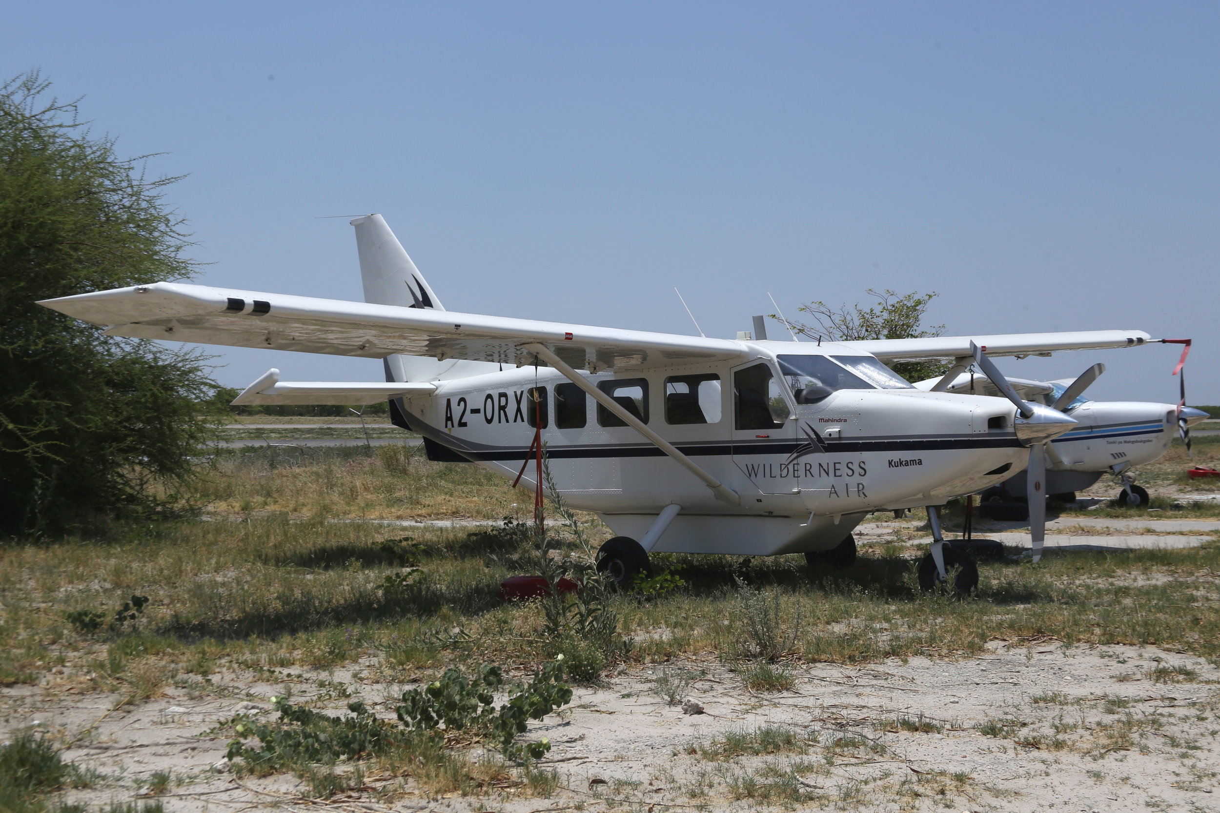 A2-ORX Wilderness Air Gippsland Airvan taken at Maun, Botswana 15th November 2018 by John Wood