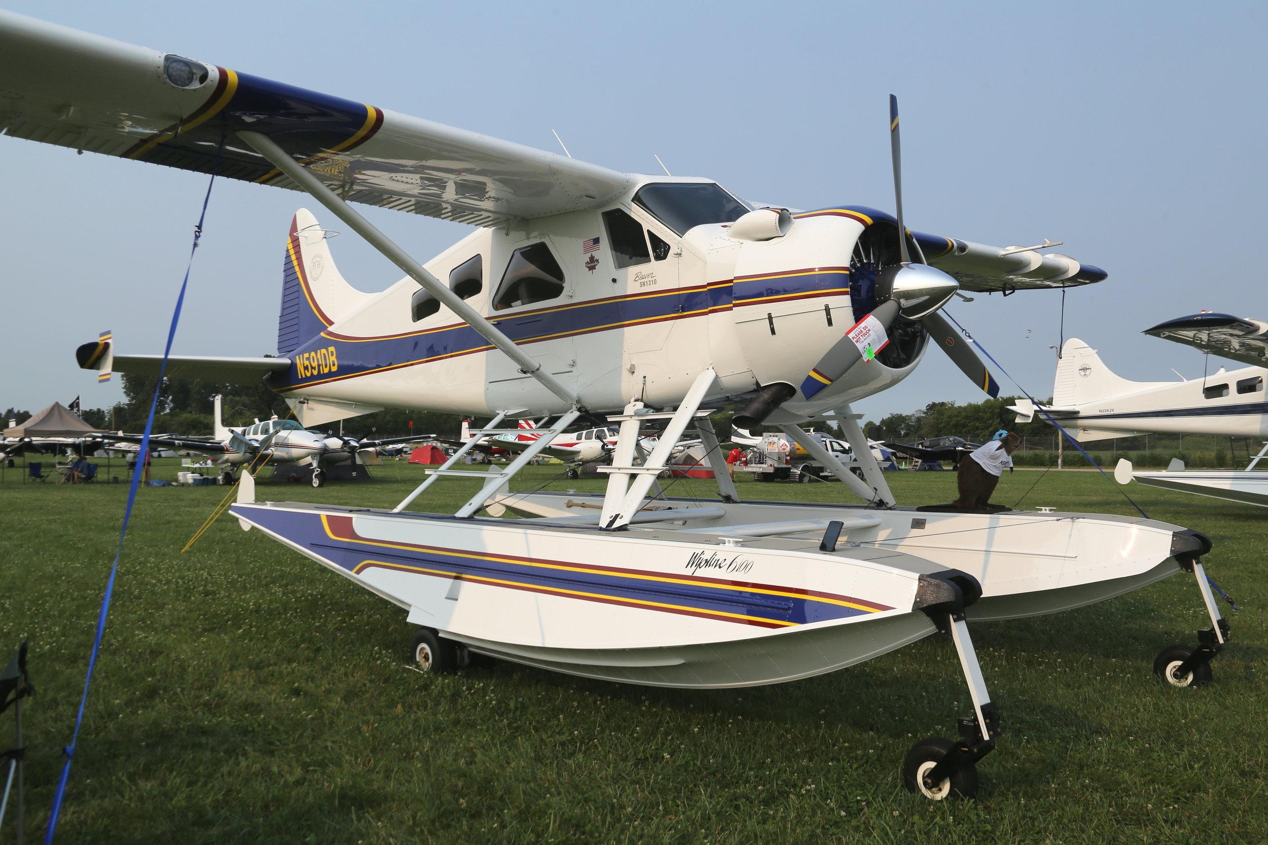 N591DB Wet Dreams DHC-2 Beaver taken at Oshkosh 23rd July 2018 by John Wood
