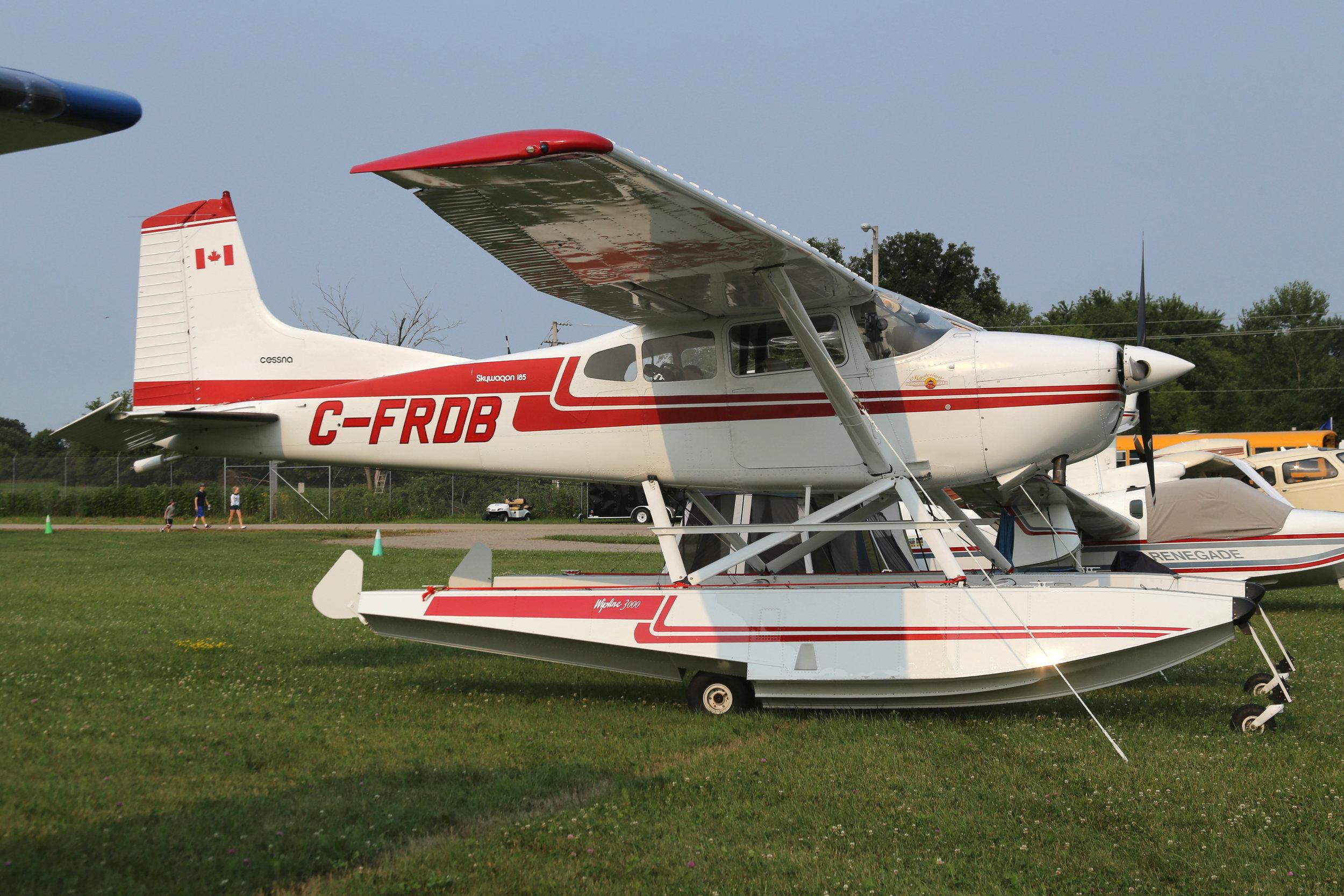 C-FRDB Cessna 185 Skywagon taken at Oshkosh 23rd July 2018 by John Wood