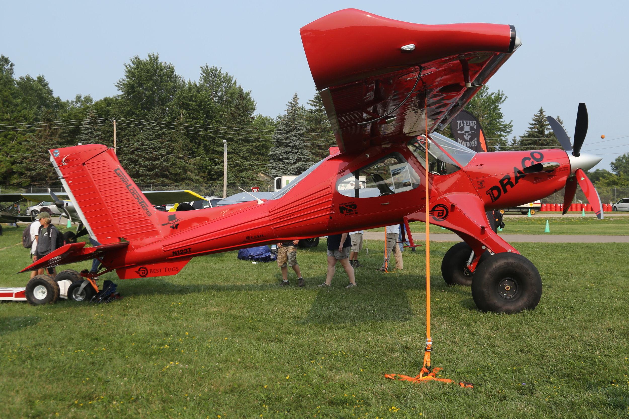 N123T PZL-104 Wilga-35A taken at Oshkosh 23rd July 2018 by John Wood