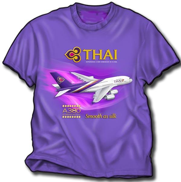 - Thai A380 T-Shirt £21.95