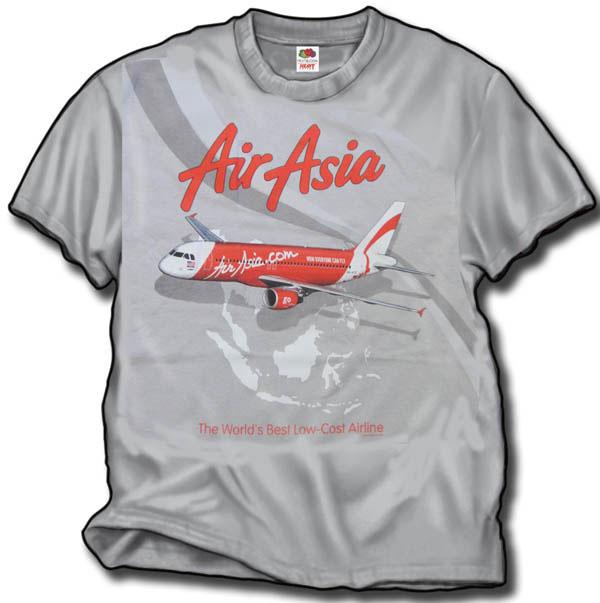- Air Asia T-Shirt £21.95