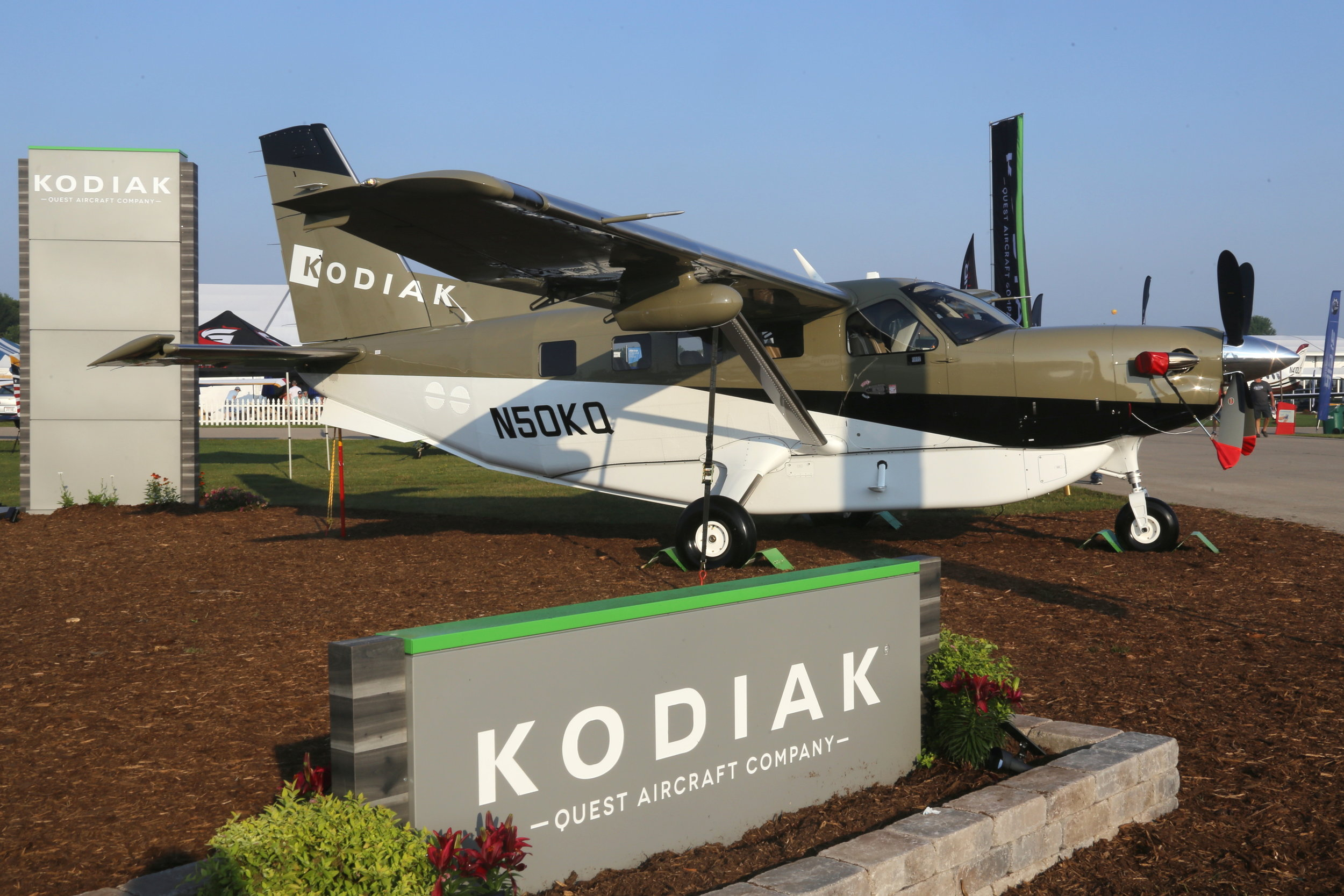 N50KQ Quest Aircraft Company Kodiak 100 taken at Oshkosh 24th July 2018 by John Wood