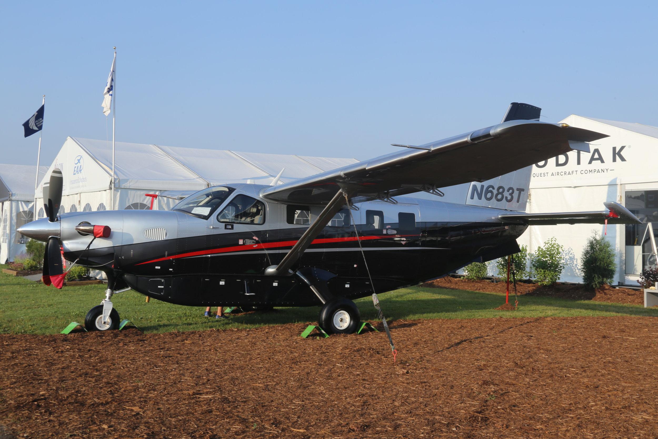 N683T Quest Aircraft Company Kodiak 100 taken at Oshkosh 24th July 2018 by John Wood