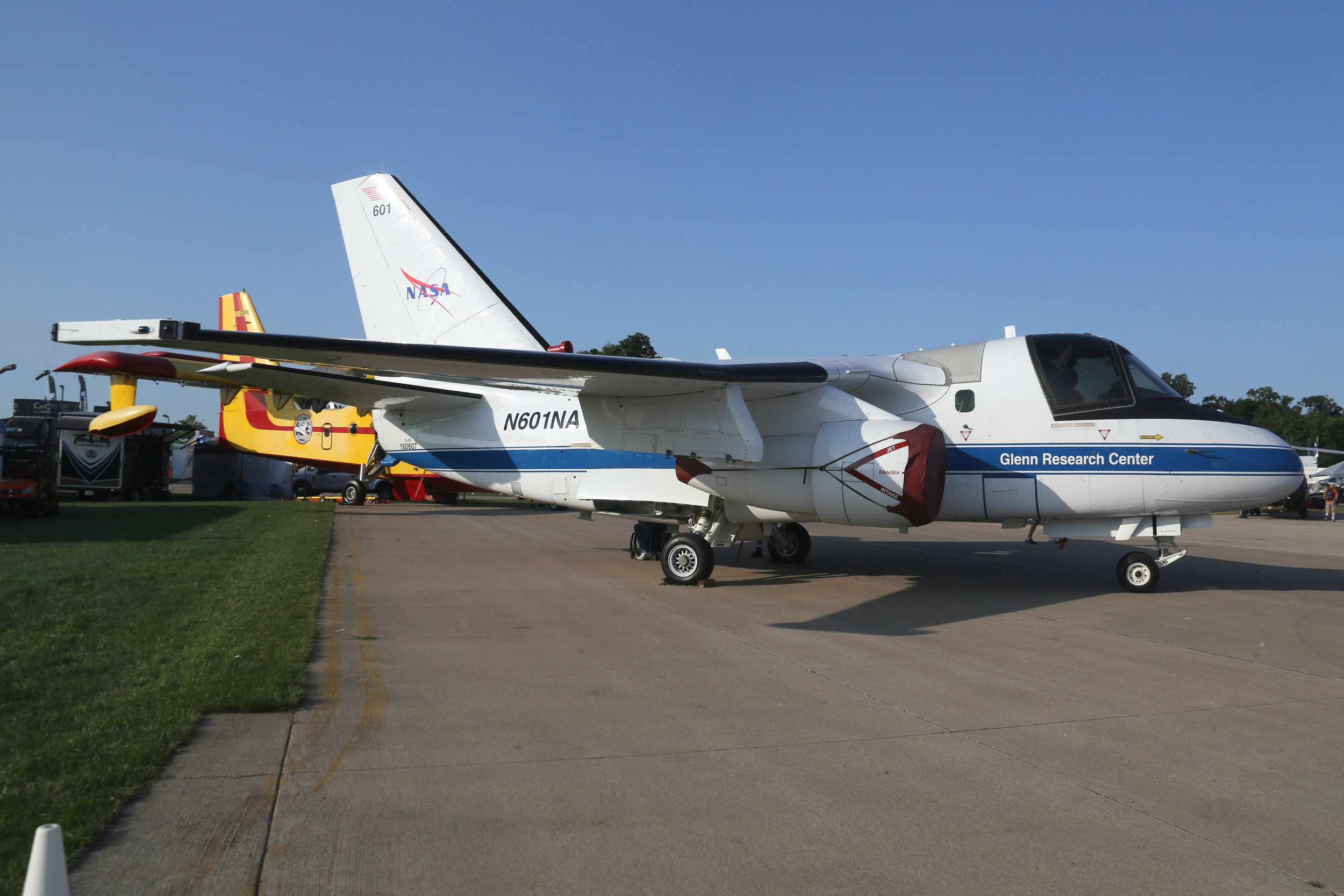 N601NA Lockheed S3 Viking taken at Oshkosh 25th July 2018 by John Wood