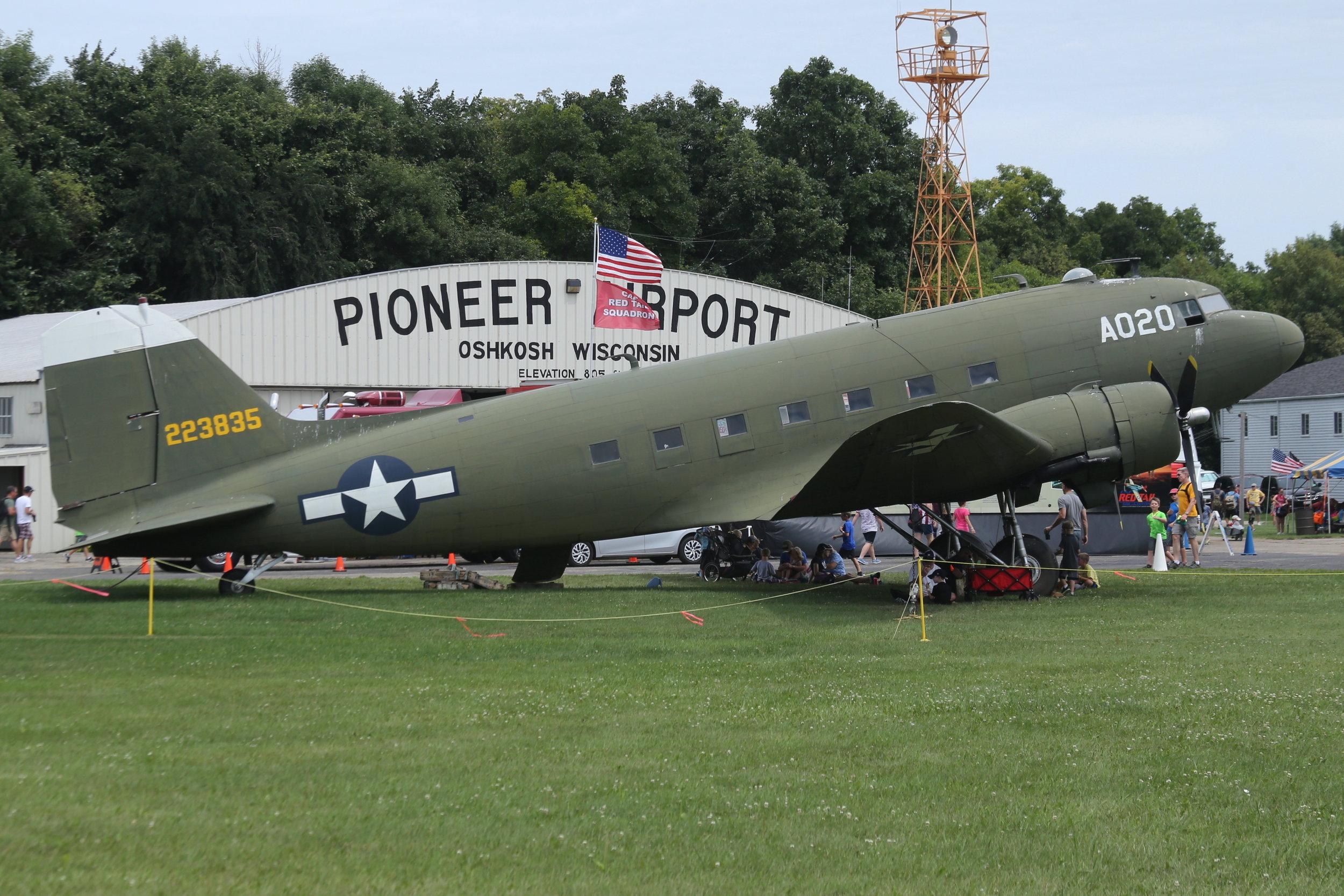 N7772 (223835) DC3 taken at Pioneer Airport Oshkosh 25th July 2018 by John Wood