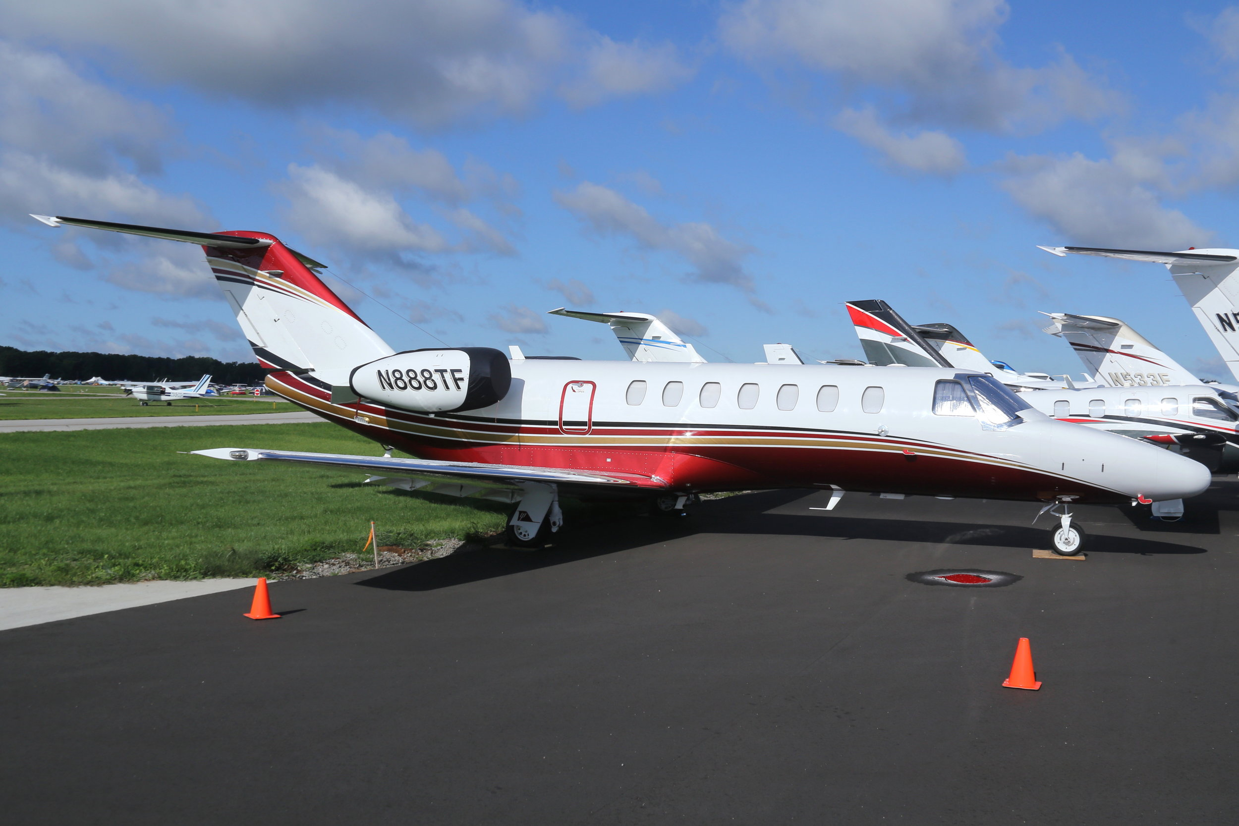 N888TF Mustang Leasing Co. Cessna 510 Mustang taken at Whitman Regional Airport 26th July by John Wood