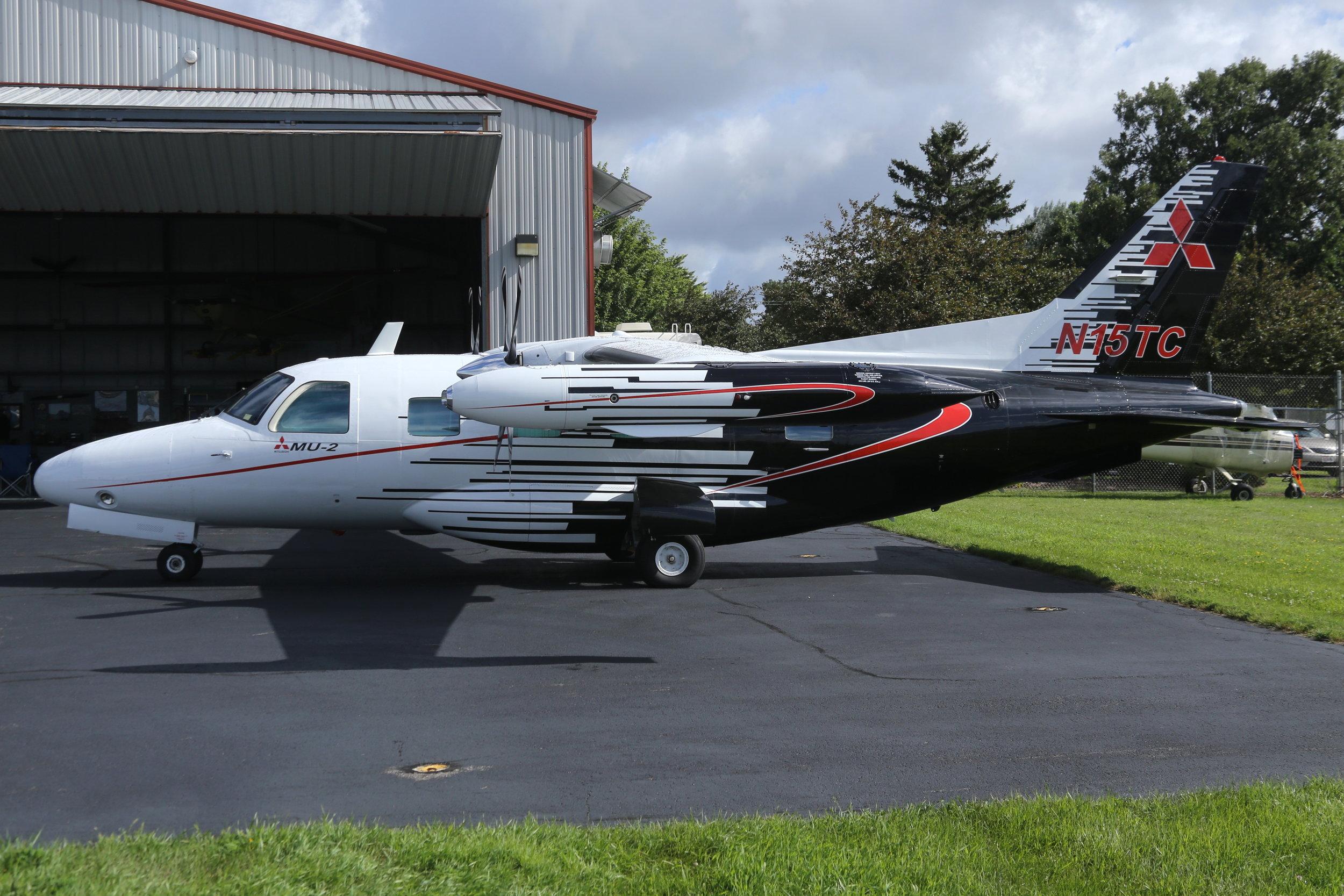 N15TC Triple C Aviation MU2 taken at Whitman Regional Airport 26th July 2018 by John Wood