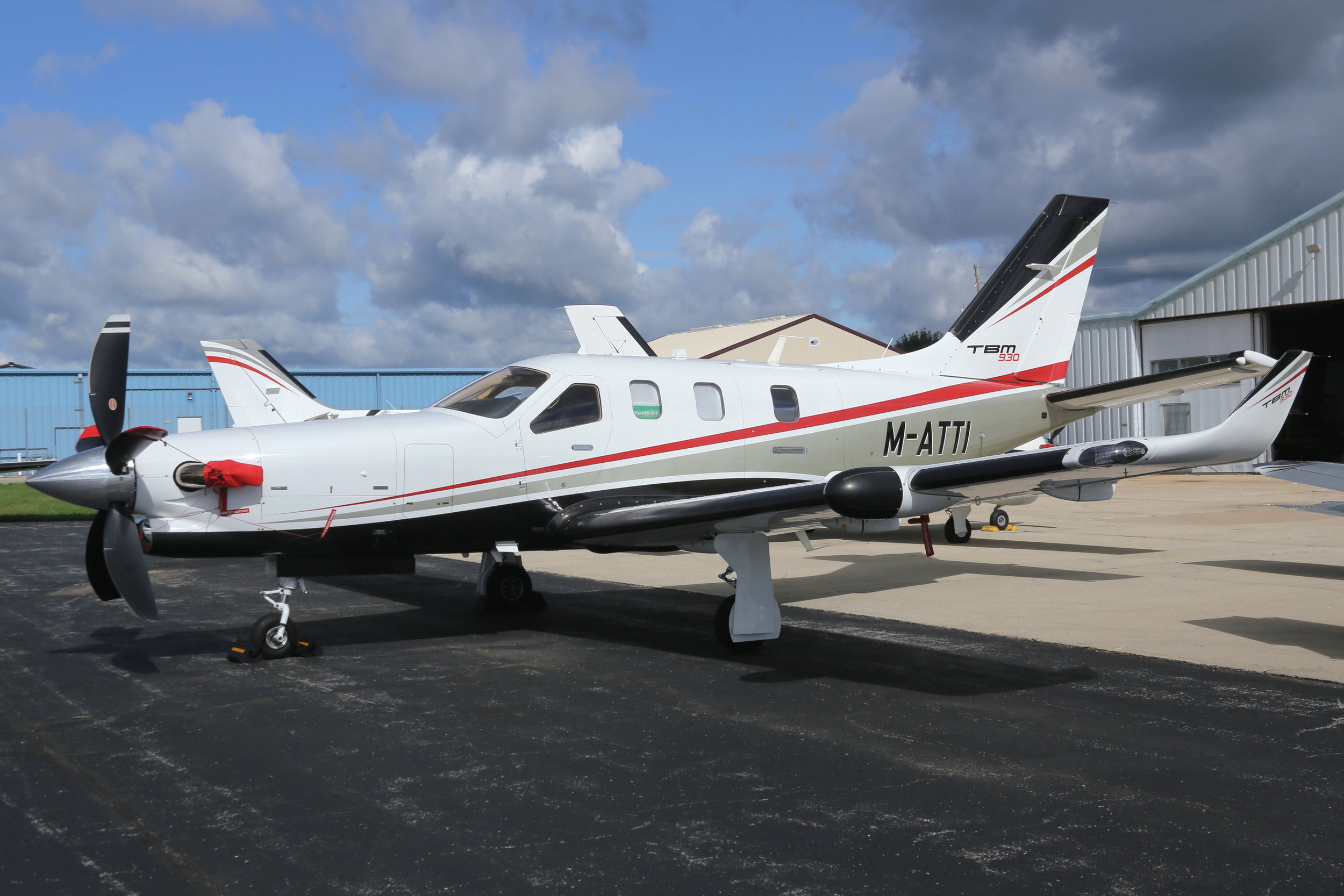 M-ATTI Vector Aircraft Leasing TBM 930 taken at Whitman Regional Airport 26th July 2018 by John Wood