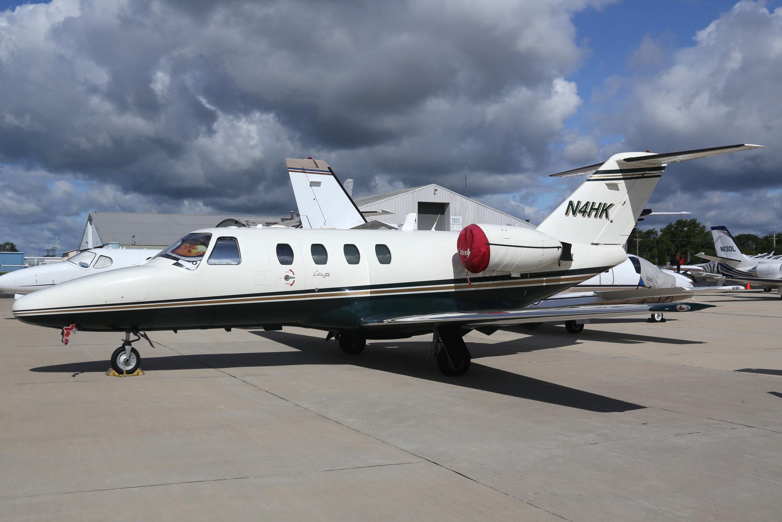 N4HK Cessna 550 taken at Whitman Regional Airport 26th July 2018 by John Wood