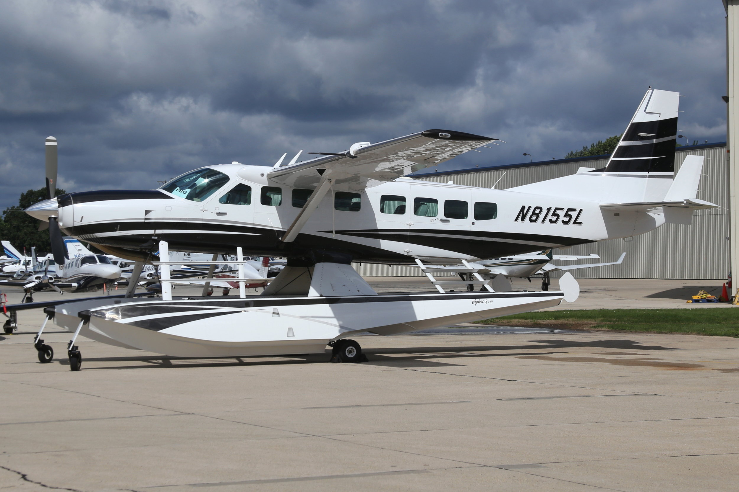 N8155L Cessna Aircraft Co. Cessna 208F taken at Whitman Regional Airport 26th July 2018 by John Wood