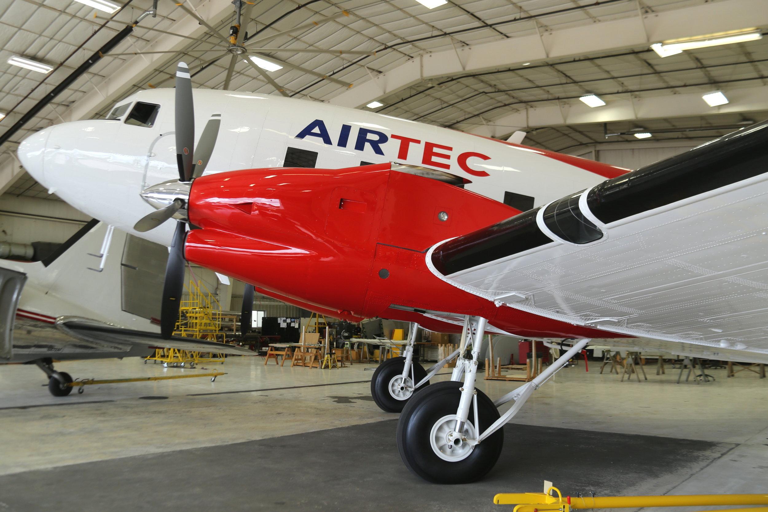 N141PR AIRTEC DC3T taken at Basler Turbo Conversions 26th July 2018 by John Wood