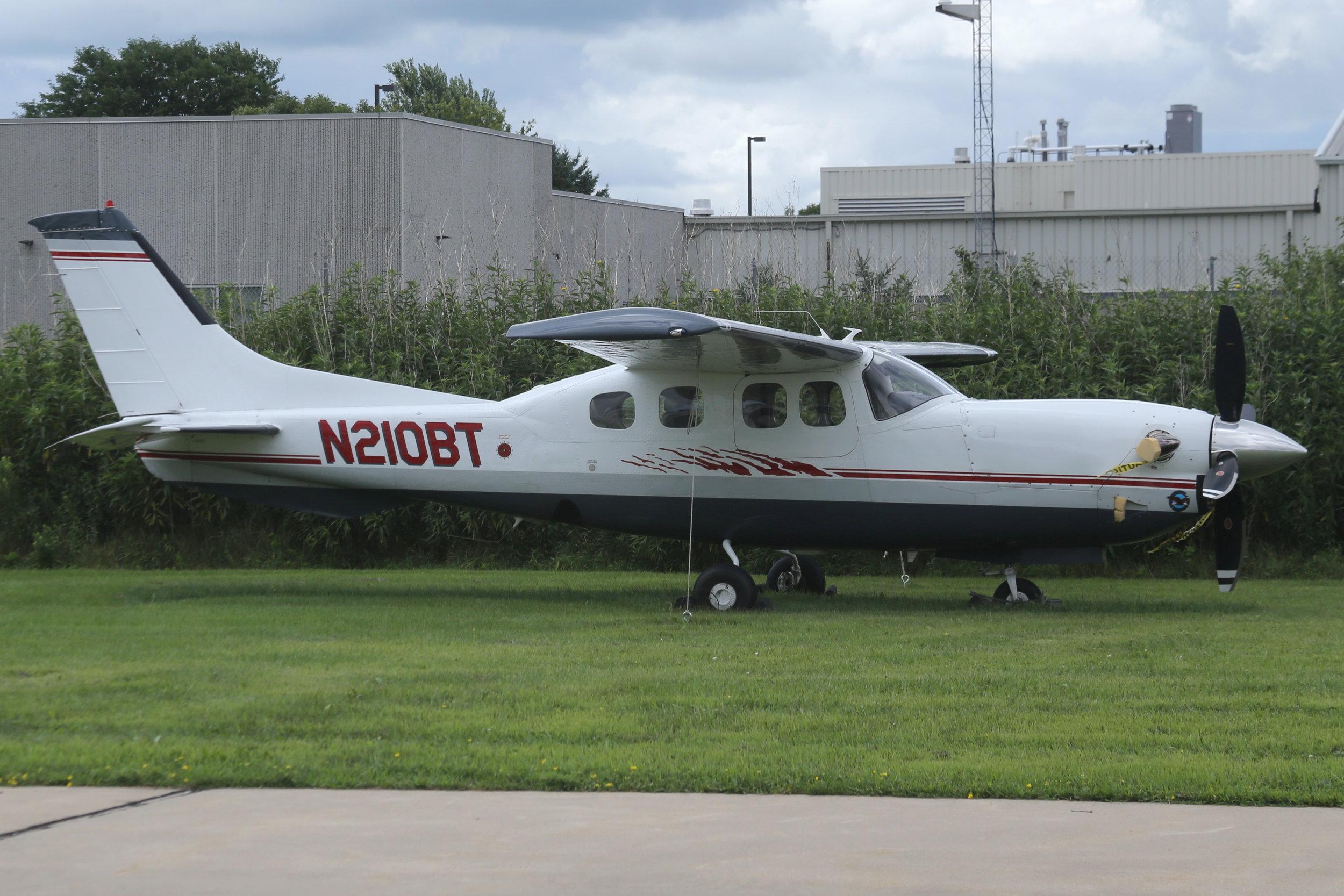 N210BT Basler Turbo Conversions Cessna 210N taken at Basler 26th July 2018 by John Wood