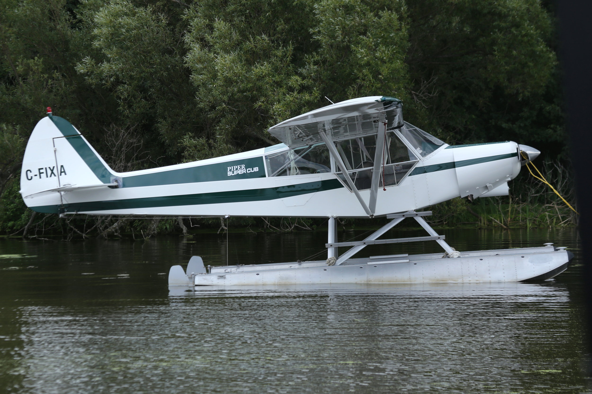 C-FIXA PA18F Super Cub taken at Lake Winnibago 26th July 2018 by John Wood