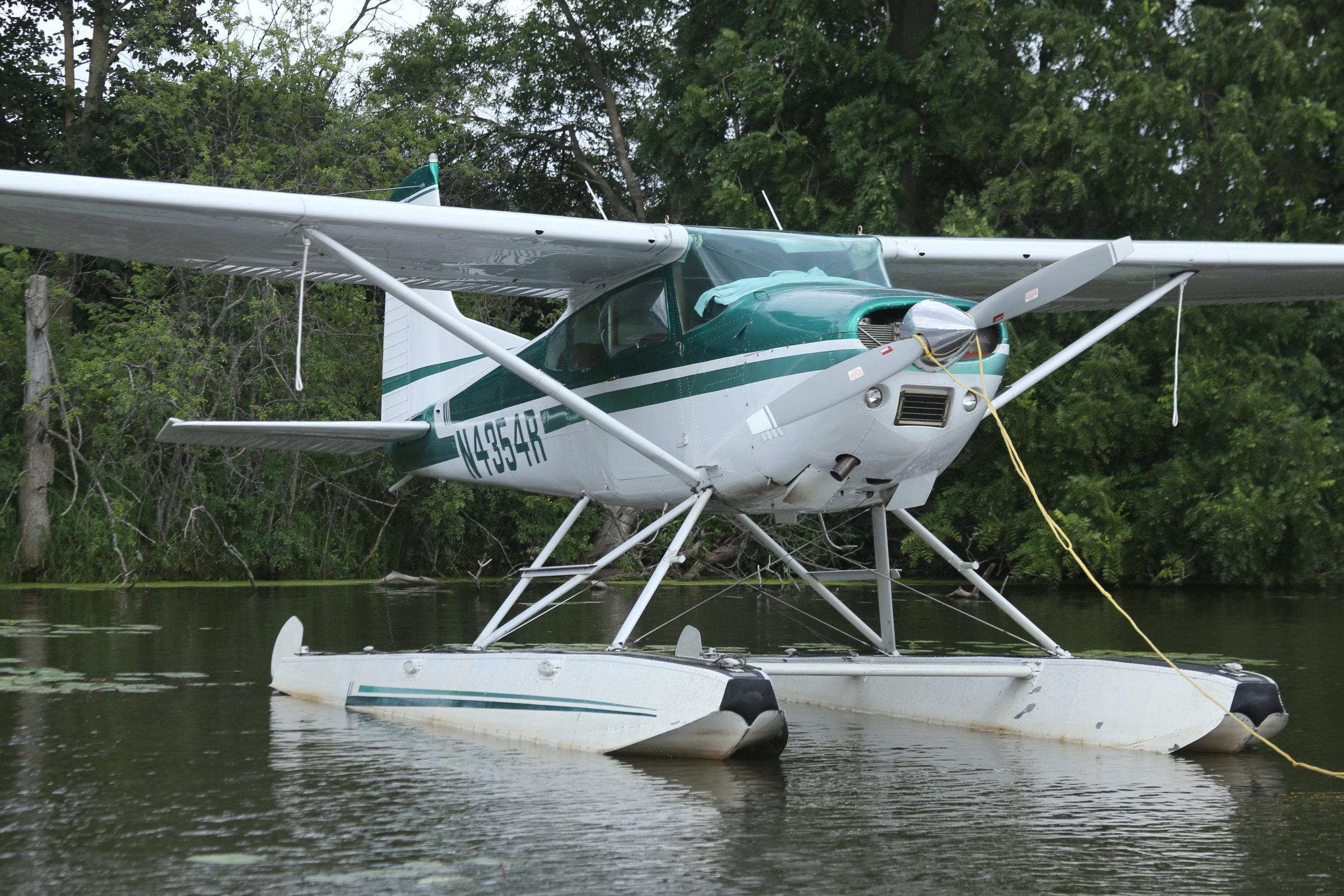 N4354R Cessna 185F taken at Lake Winnibago Oshkosh 26th July 208 by John Wood