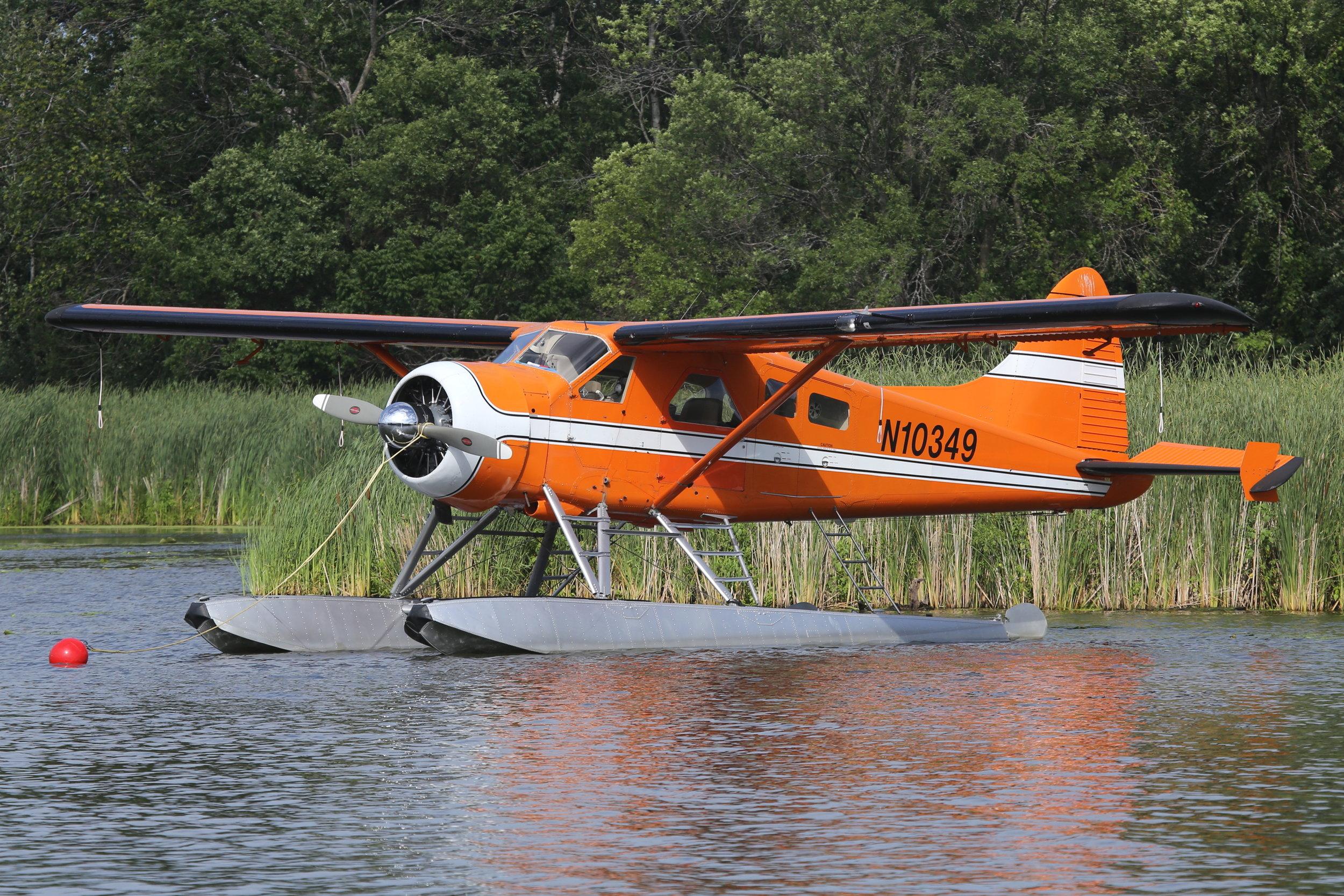 N10349 Aspen Air DHC-2 Beaver taken at Lake Winnibago Oshkosh 26th July 2018 by John Wood