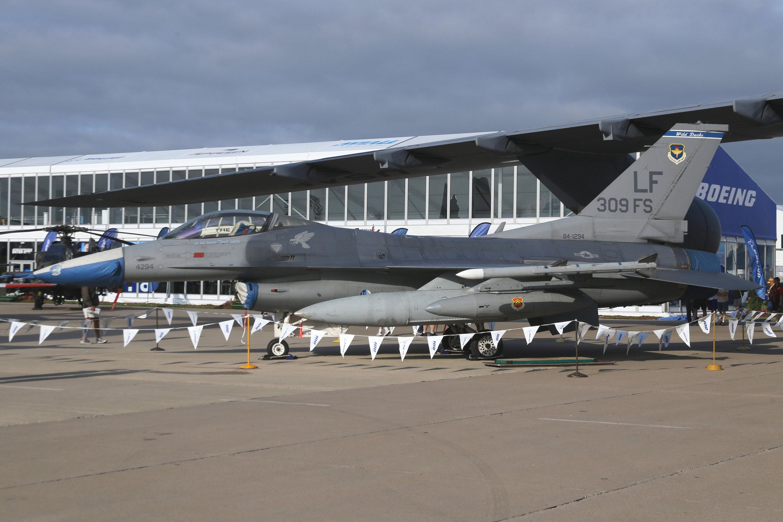 84-1294 USAF F16C taken at Oshkosh 27th July 2018 by John Wood