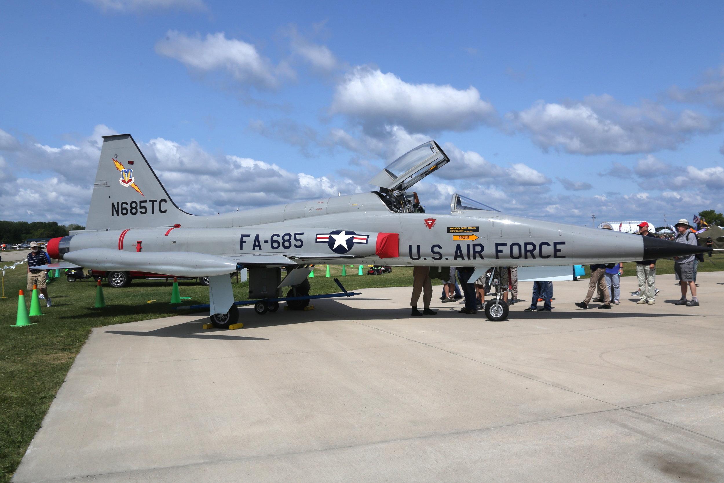 N685TC Thornton Corporation F-5A taken at Oshkosh 27th July 2018 by John Wood