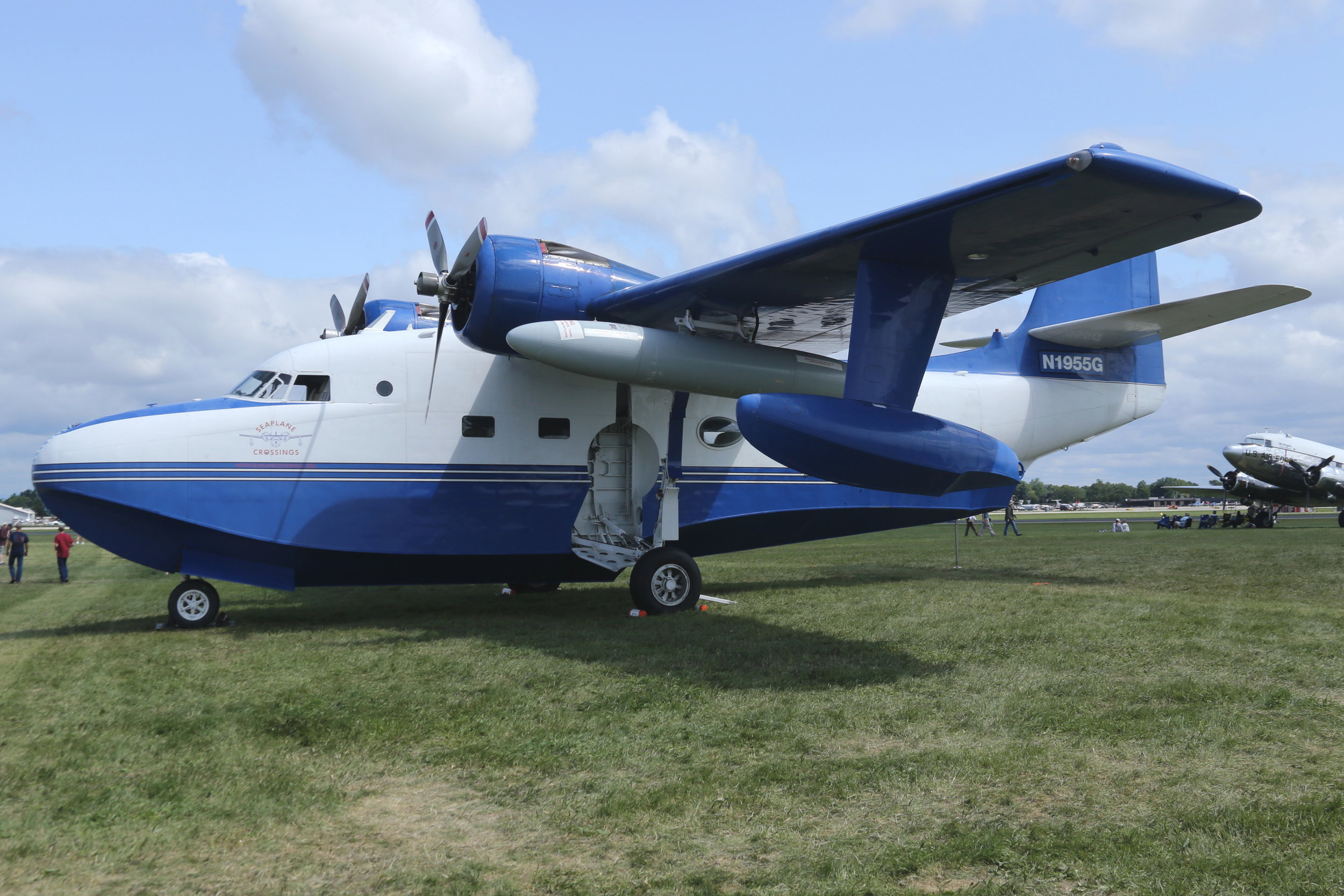N1955G Stargazer Aero Grumman Albatross taken at Oshkosh 27th July 2018 by John Wood