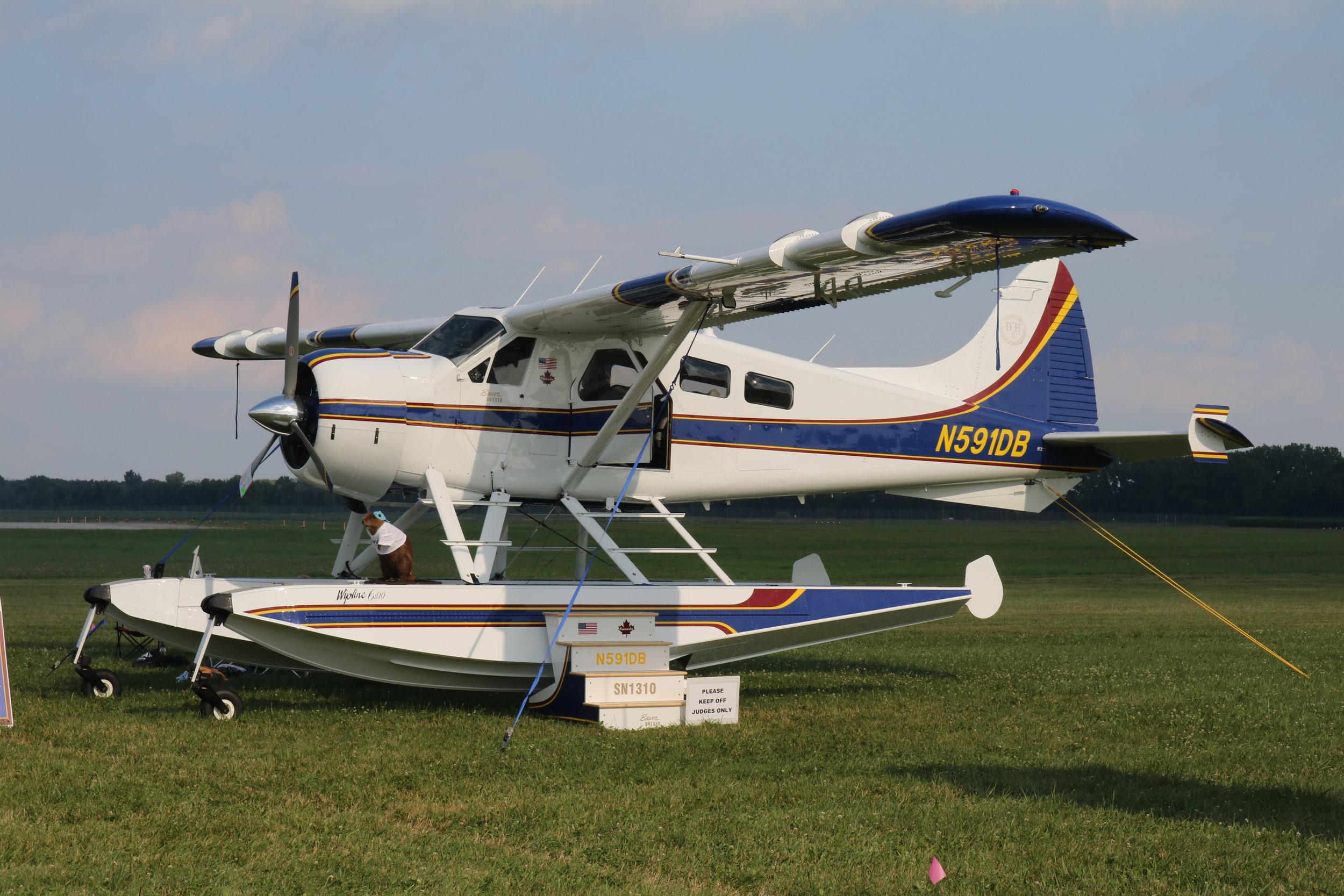 N591DB Wet Dreams DHC-2 Beaver taken at Oshkosh 25th July 2018 by Andrew Tenny
