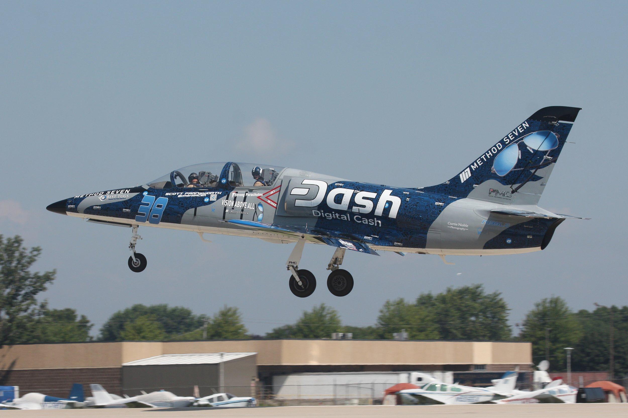 N139LS Aero Vodochody L39C departing Oshkosh 24th July 2018 by Andrew Tenny