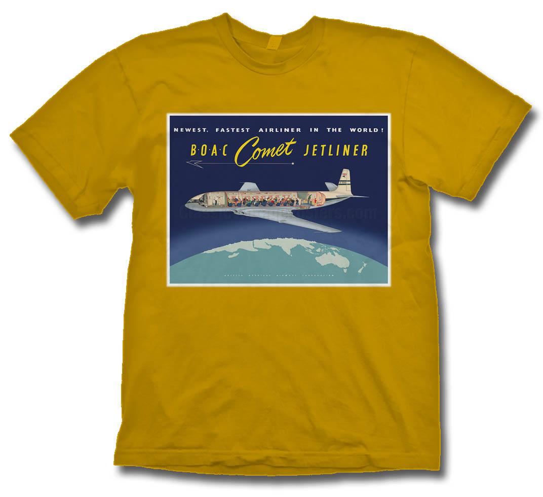 - BOAC Comet Jetliner T-Shirt £21.95
