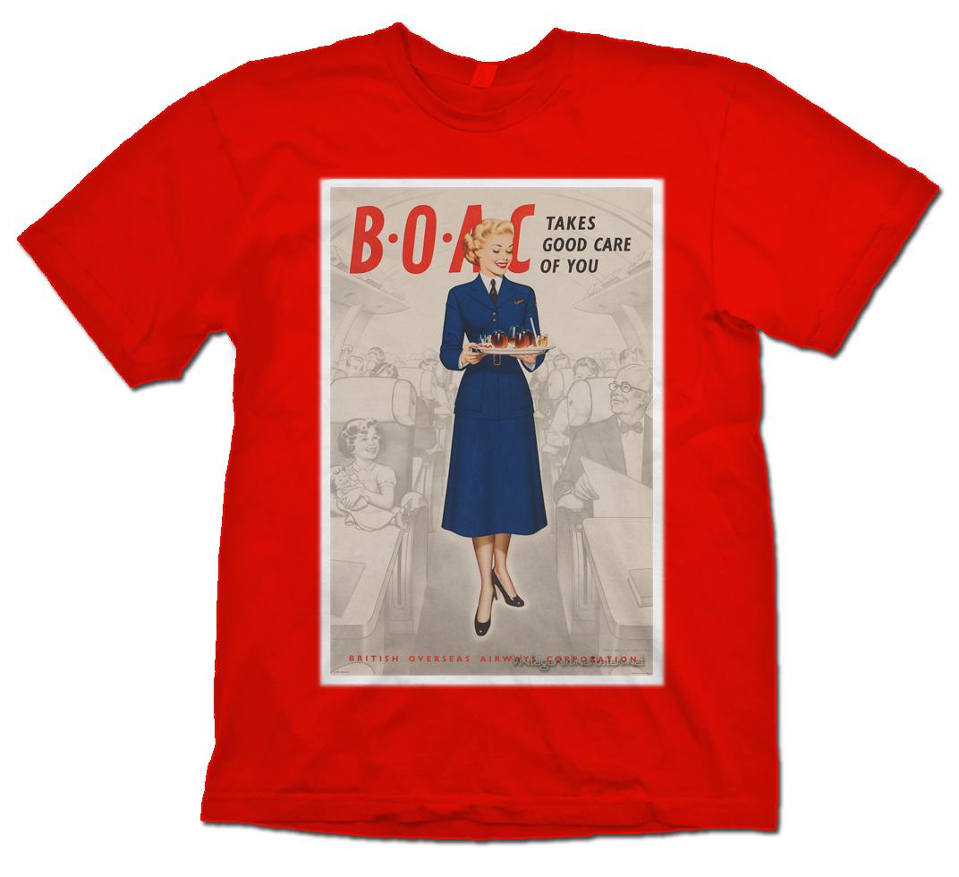 - BOAC Girl T-Shirt £21.95