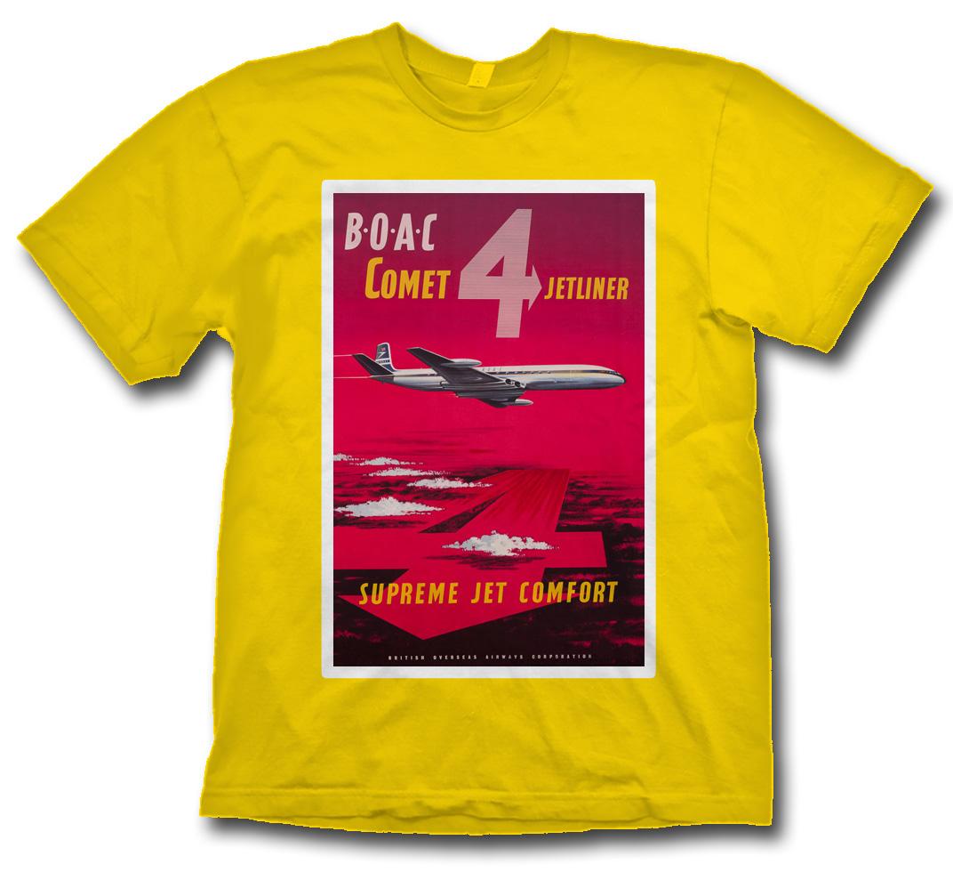 - BOAC Comet 4 Jetliner T-Shirt £21.95