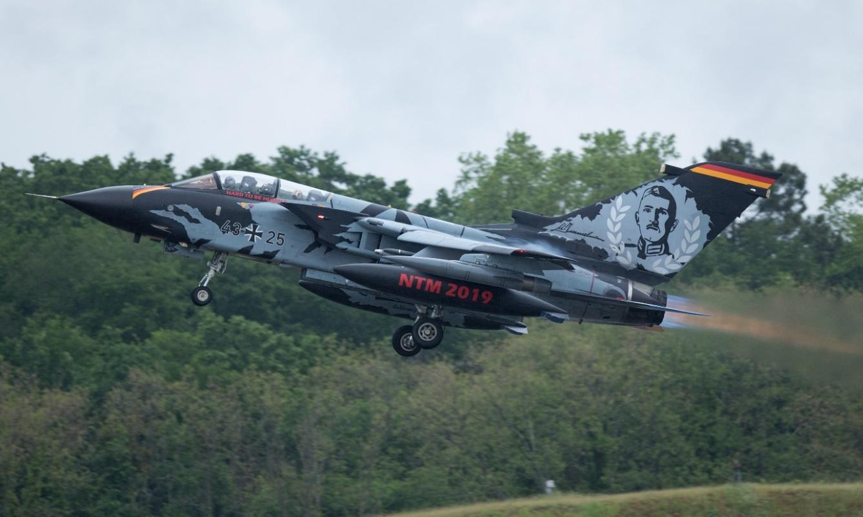 "Photo: German Air Force Tornado serial 4325 of TaktLwg 51 ""I"". Peter Hampson."