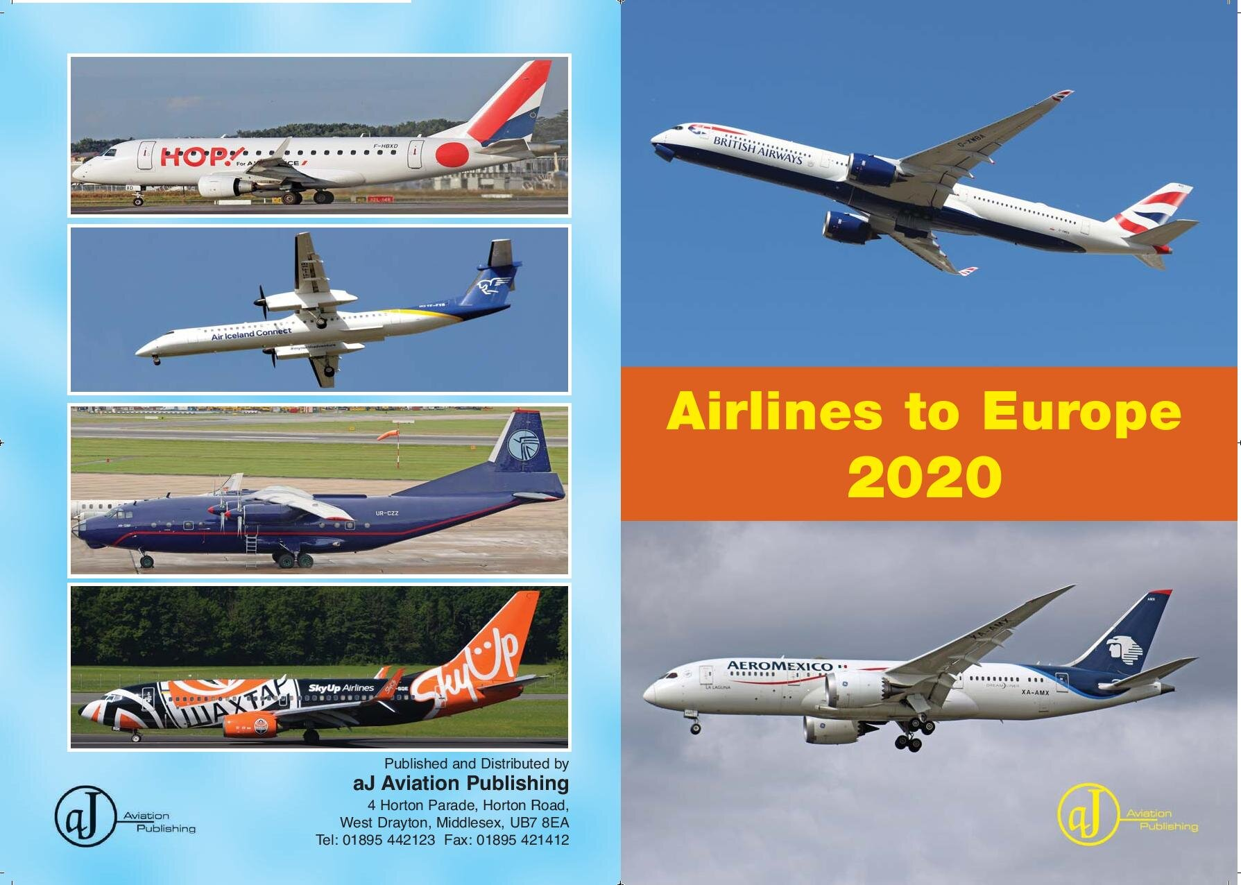- Airlines to Europe 2020 £7.50