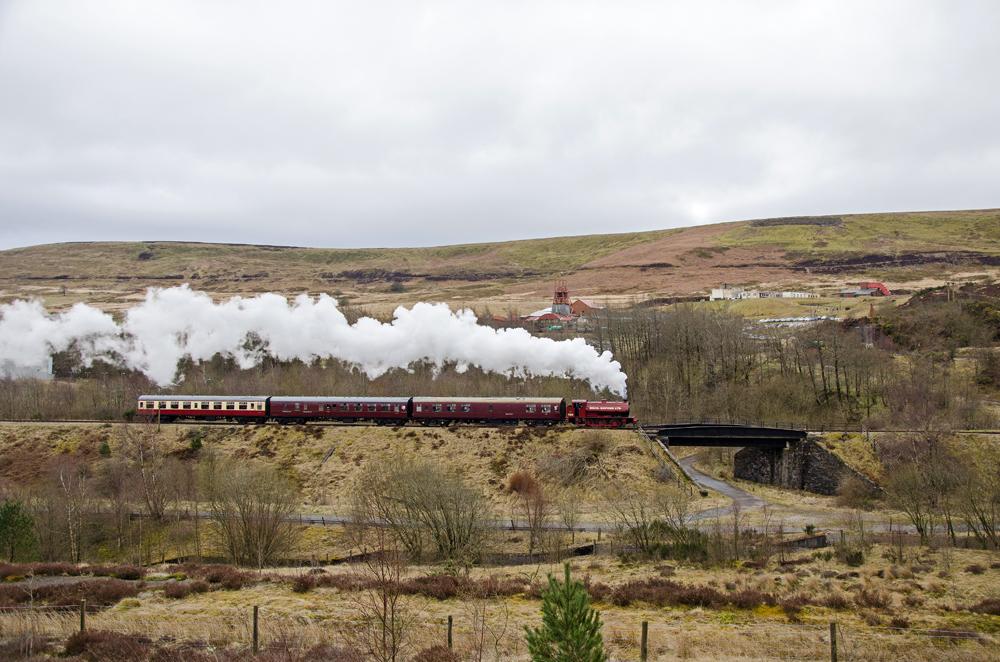 Steam Railway - Merthyr