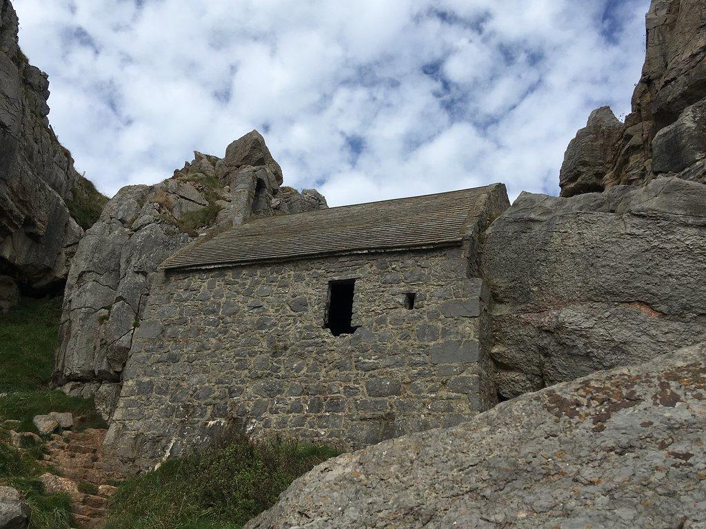 St Govan's Chapel - Stackpole