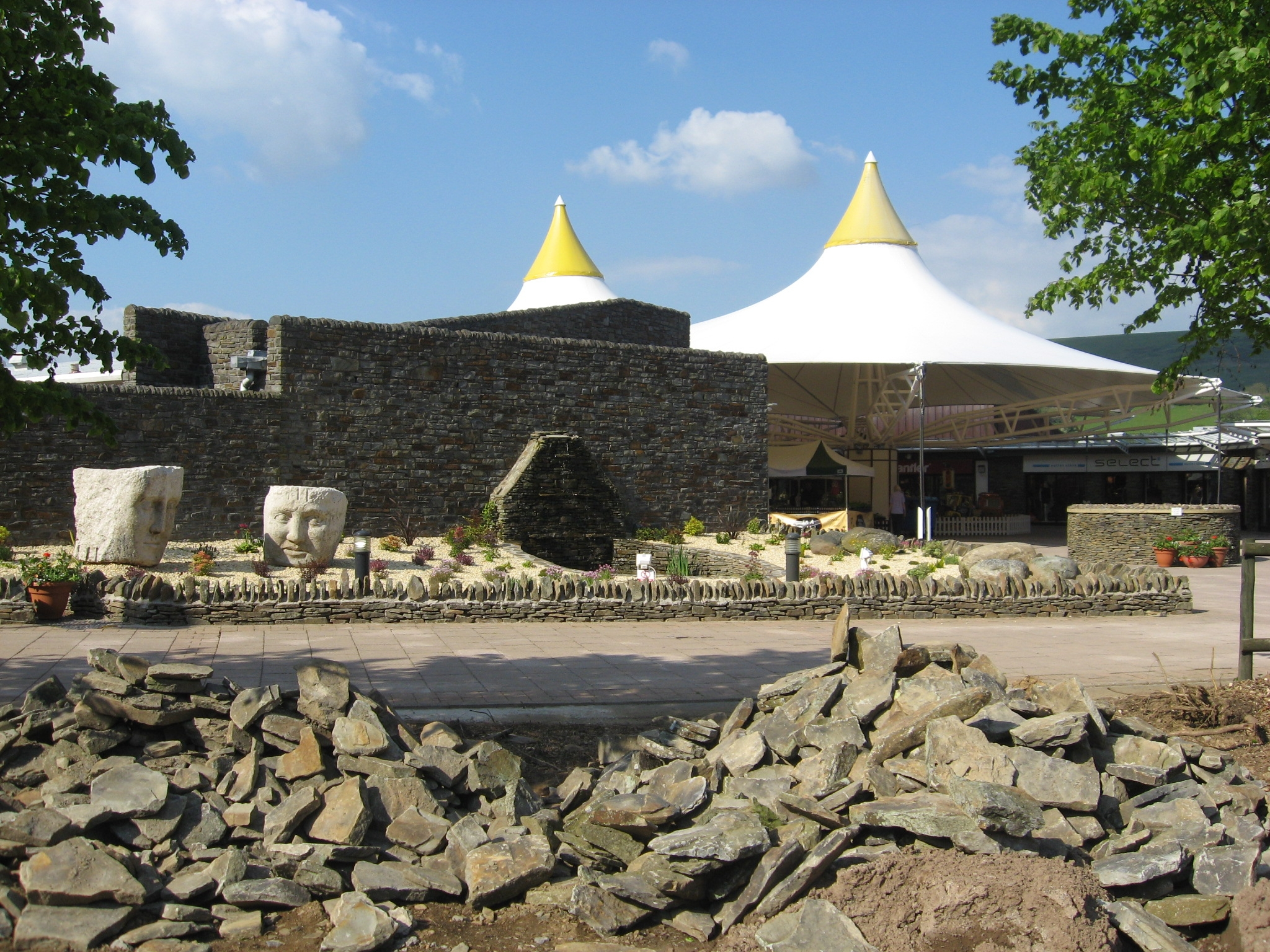 Festival Park Shopping - Ebbw Vale