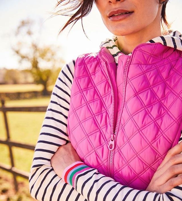 Our brand new Joules collection is now ready for your perusal in the shop! Some exciting new things and also classics like this pink Minx gilet! 💕 we've also been very busy getting our new website up to scratch - would you like to see items like this one in our online shop too? 💻#pinkminx #cantgowrong #giletlife #thinkpink . . . . . . . . . . #joules #joulesuk #joulesclothing #minxgilet #newin #wardrobe #outfit #clothing #styleoftheday #ootd #fashionblogger #fashionblog #styling #fashionbloggers #whatiwore #outfitoftheday #styleblogger #onlineshopping #outfitideas #outfitinspiration #stylegram #stylediaries #styleblog #whatiworetoday #aboutalook #fashionaddict