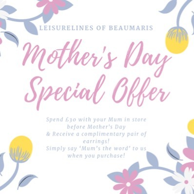 From now until Mother's Day, if you and Mum come in and make a purchase over £30, say our secret code 'Mum's the Word' to us and receive a free pair of earrings for Mum! Offer valid until 31/3/19. . . . . . . .  #mothersday #motheringsunday #offer #special #specialoffer #freeearrings #free #gift #freegift #promo #promotion #fashion #jewellery #beaumaris #boutique #shop #smallbusiness #anglesey #findyourepic #fiesta #photooftheday #instagood #creativepreneur #angleseygram #littlethings #styleoftheday #outfitinspiration #aboutalook #fashionaddict #independent