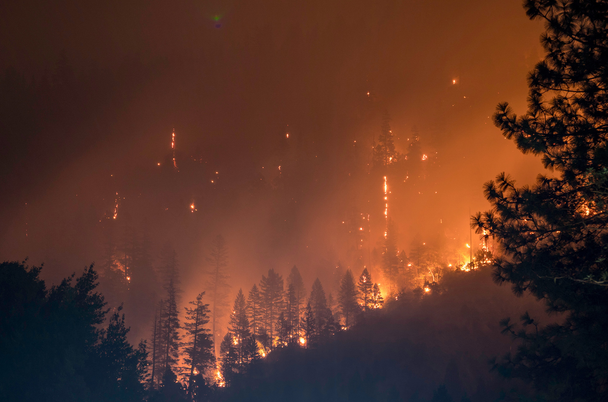 """""""The Camp Fire in Northern California has claimed nearly three times as many lives and structures than any other wildfire in the state's history."""" - - USA Today"""