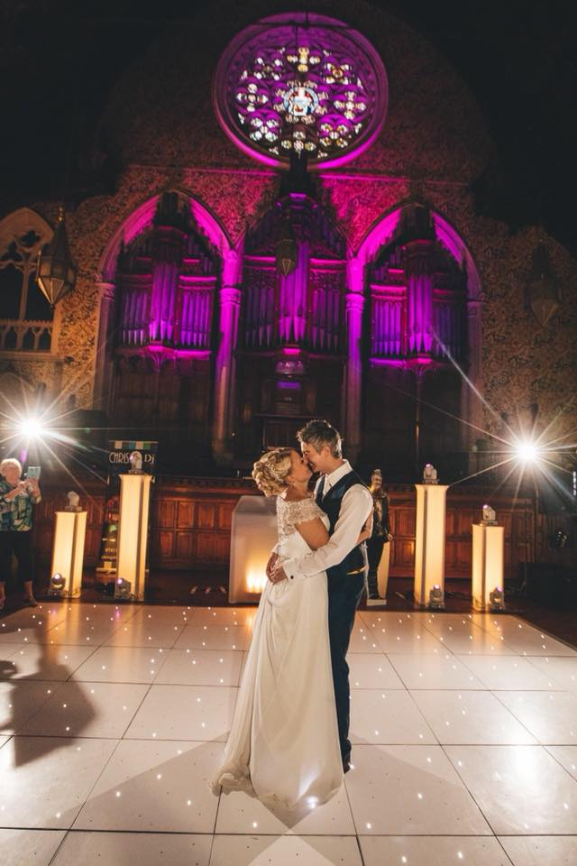 Jan and mark - Huge thanks to Chris Guttridge our DJ for the wedding last week. You were fantastic and really helpful through the whole planning process and even took some videos for us which I love and can't stop watching.Anyone looking for a DJ this guys your man… highly recommended.Thanks so much Chris x