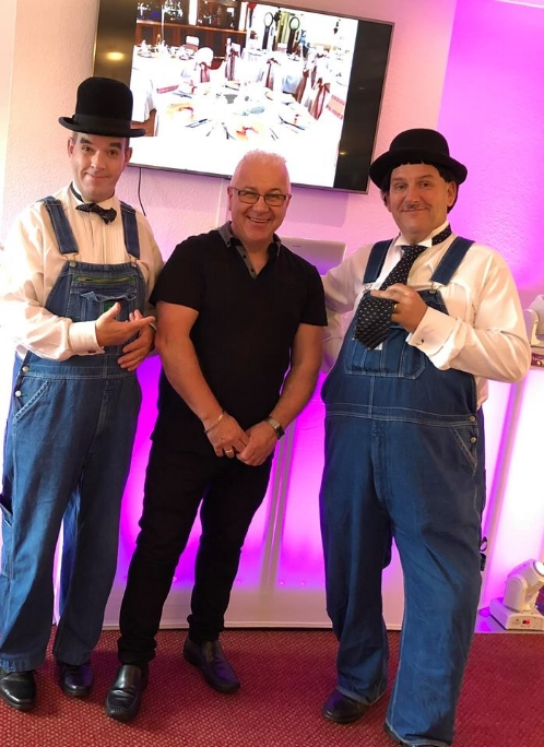 Lookalikes Magic - Laurel and Hardy Lookalikes (Wedding Awards Finalist 2018) will welcome your guests, pose for photos and entertain with comedy close-up magic .These guys are fantastic and you can see more on them on their website here