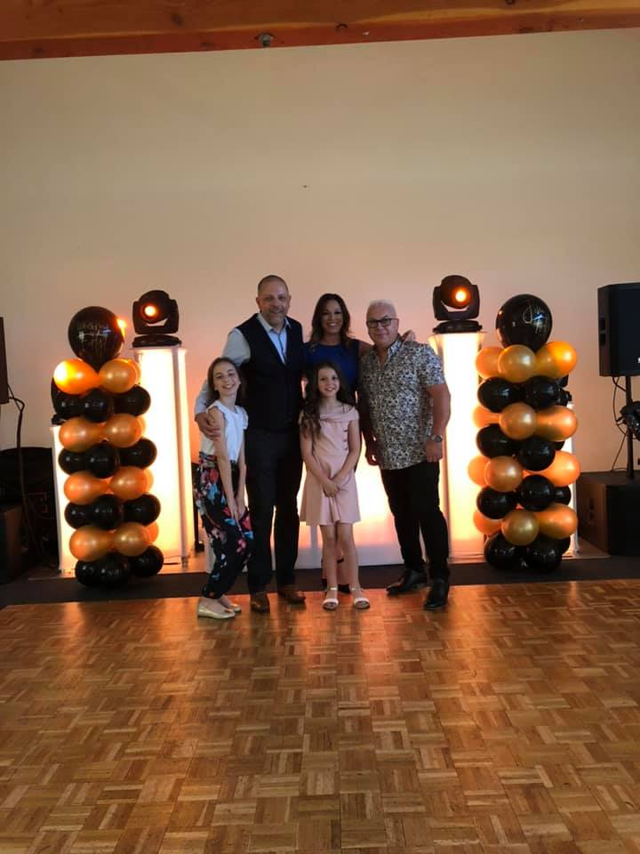 Naomi and Jim LYons 40th and 50th Birthday - Fantastic DJ, great set up, willing to go the extra mile and more and all topped off by being a really fantastic person, we hit it off straight away. You won't be disappointed if you book him, just meet him and find out for yourself.