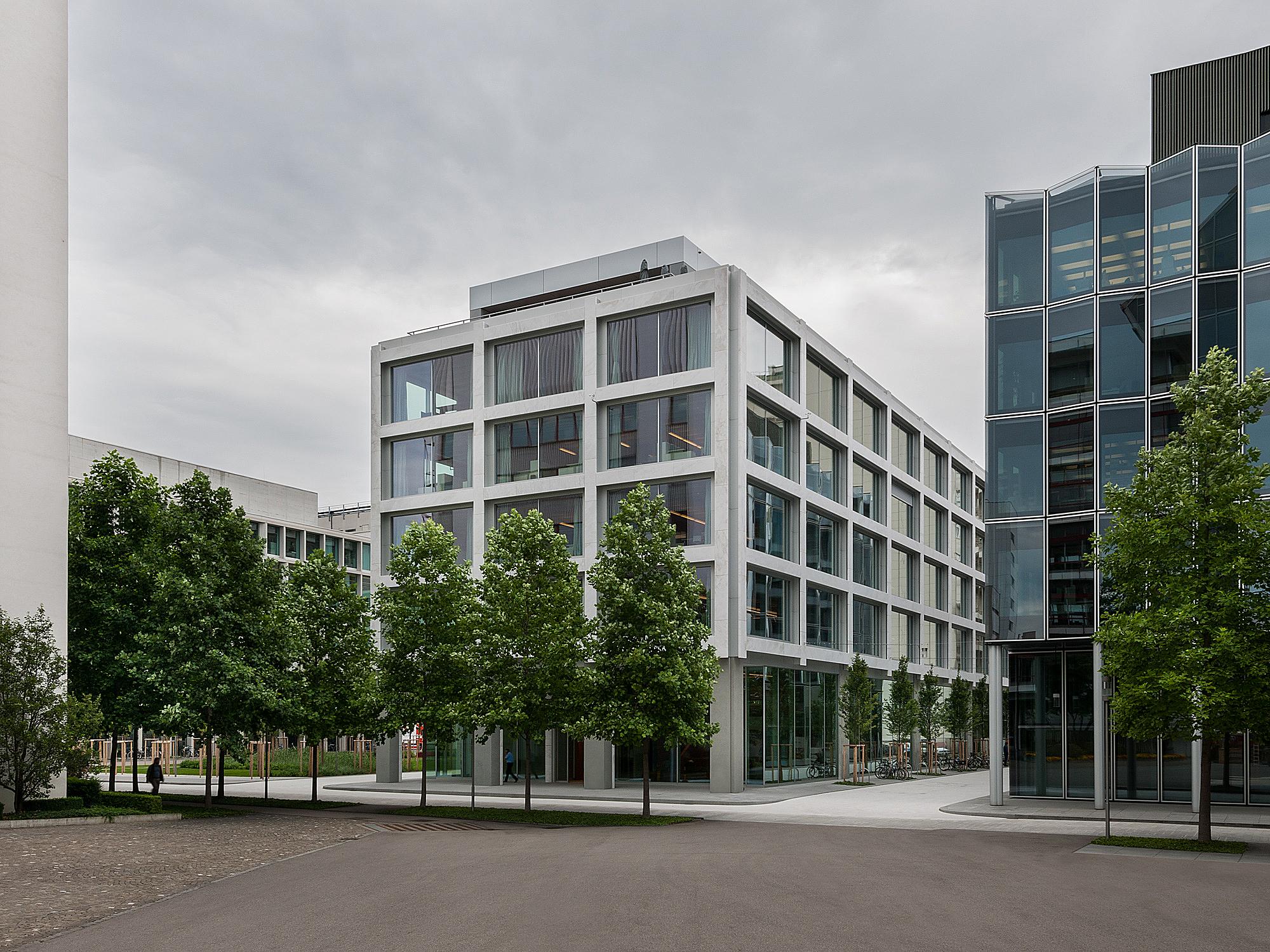 Novartis Basel Architekturfotografie