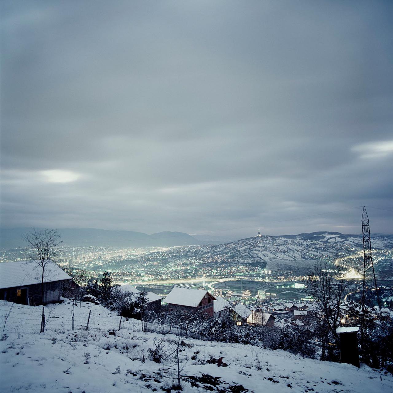 Landschaftsfotografie | Belagerung von Sarajevo, Bosnien