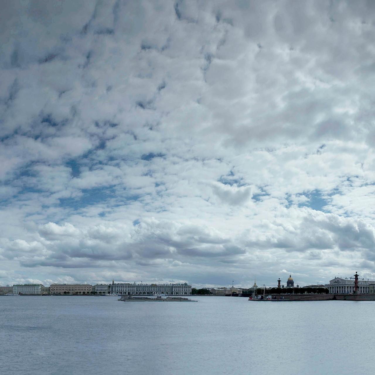 Landschaftsfotografie | Belagerung von Leningrad, Russland