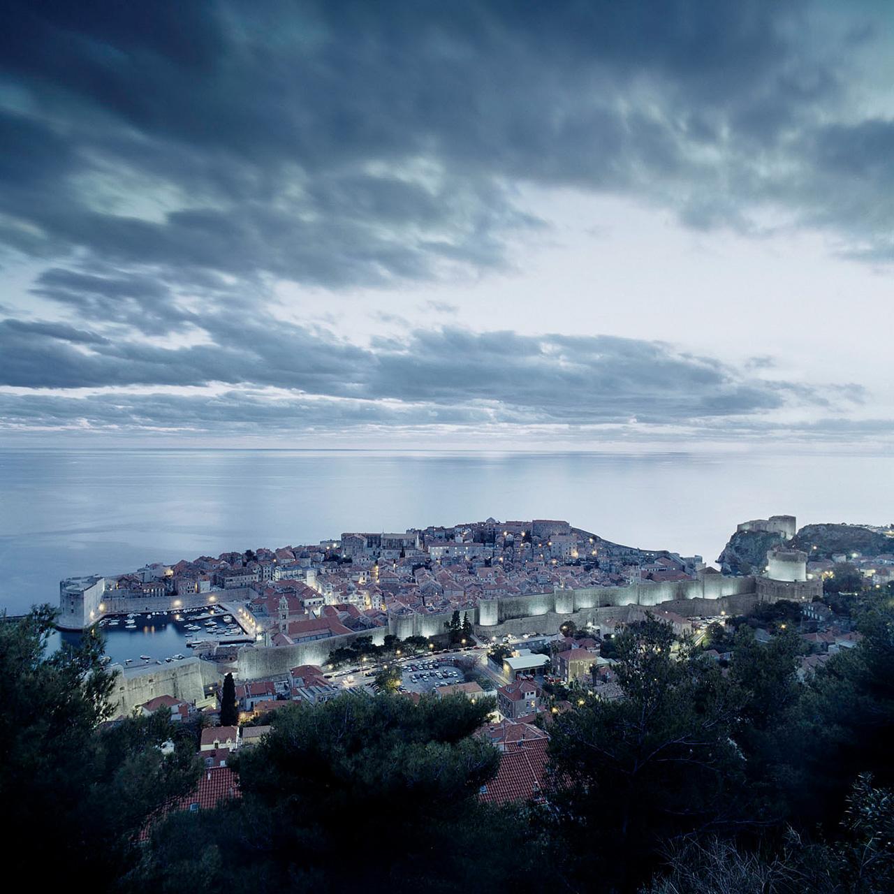 Landschaftsfotografie, Belagerung von Dubrovnik, Kroatien