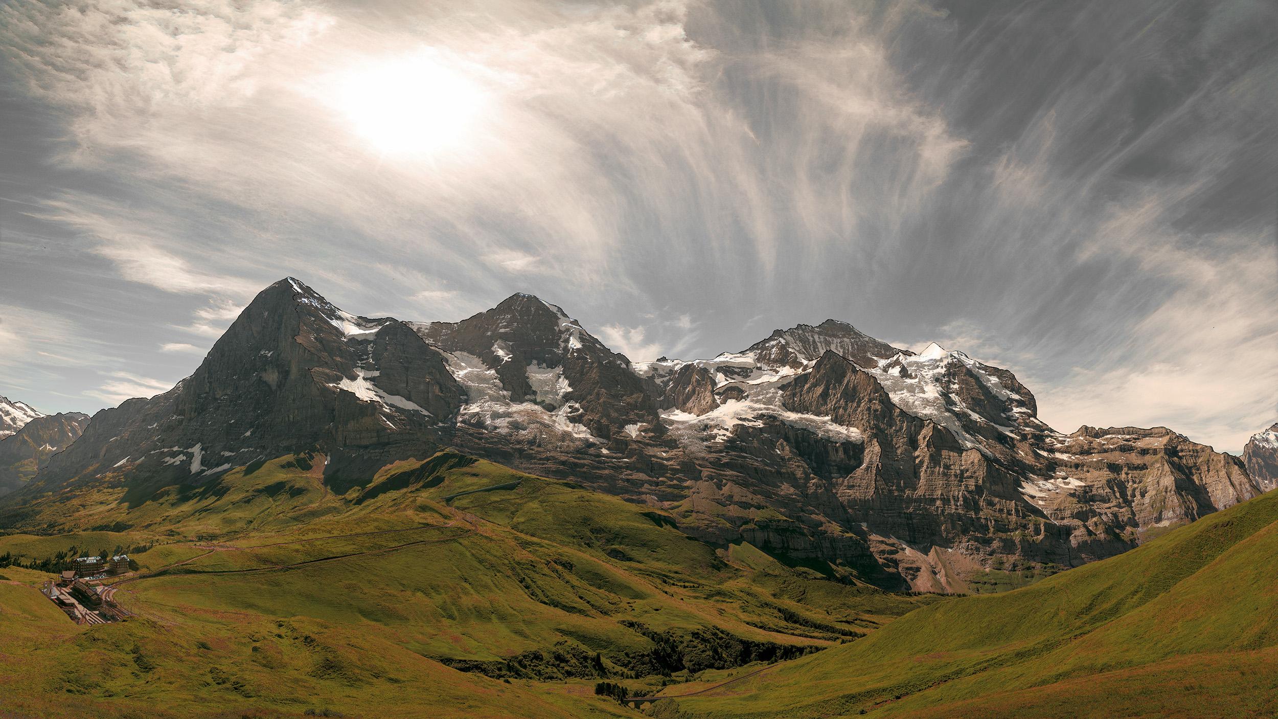 Fotografie | Eiger, Mönch and Jungfrau II, Schweiz