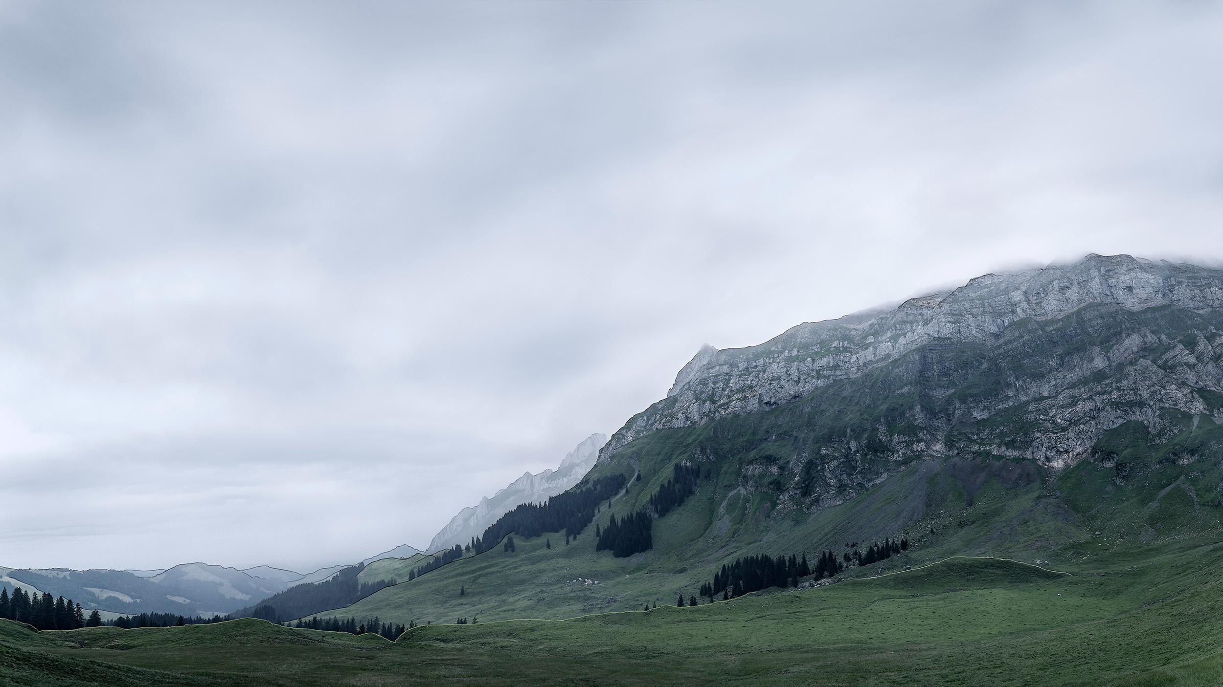 Landschaft | Potersalp, Alpstein, Appenzell, Schweiz