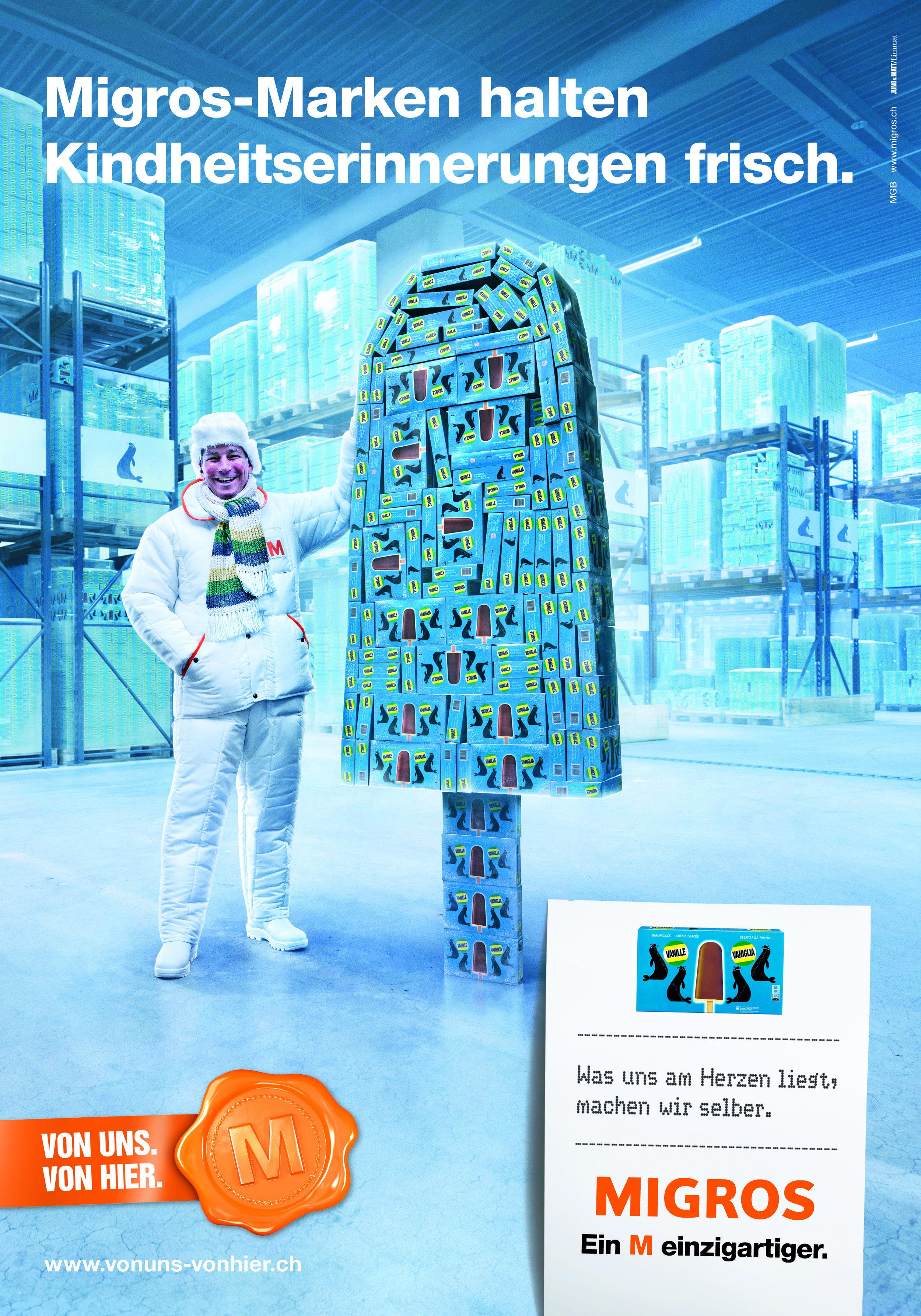 Werbekampagne Migros Fotograf Peter Hebeisen Zürich #11